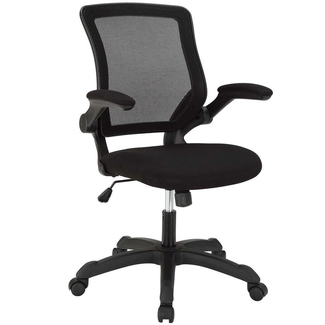 Colorful desk chairs CUB EEI 825 BLK MOD