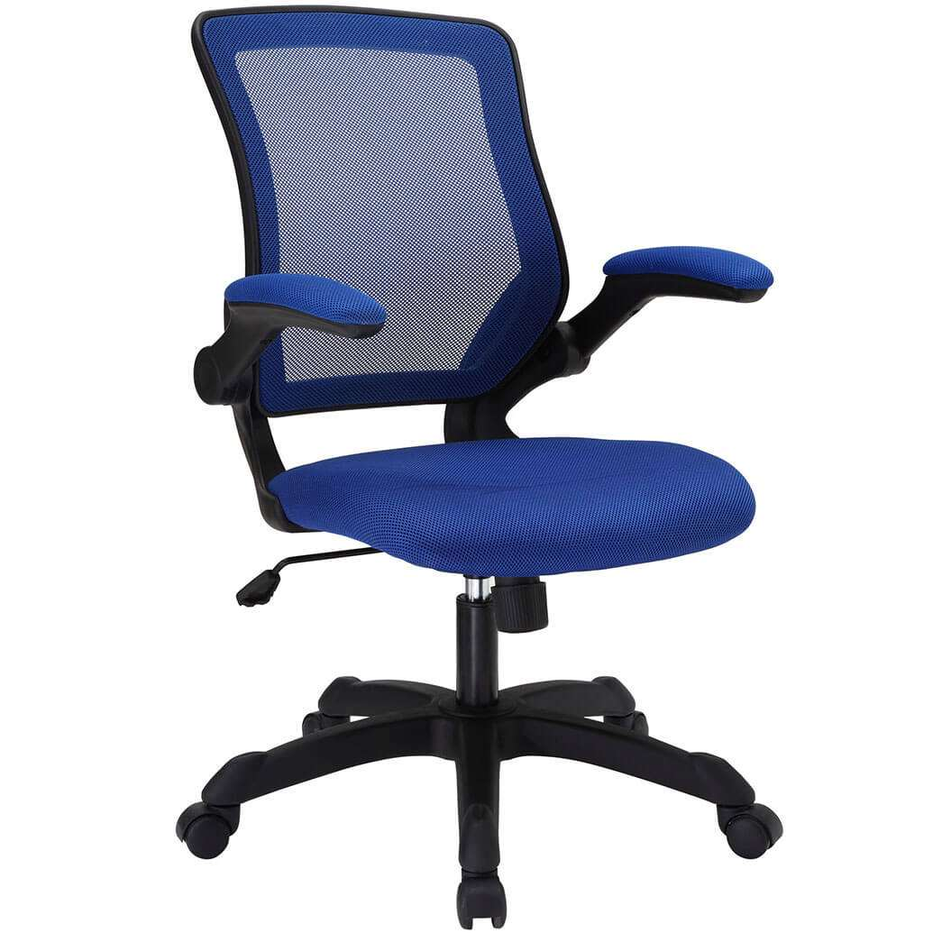 Colorful desk chairs CUB EEI 825 BLU MOD