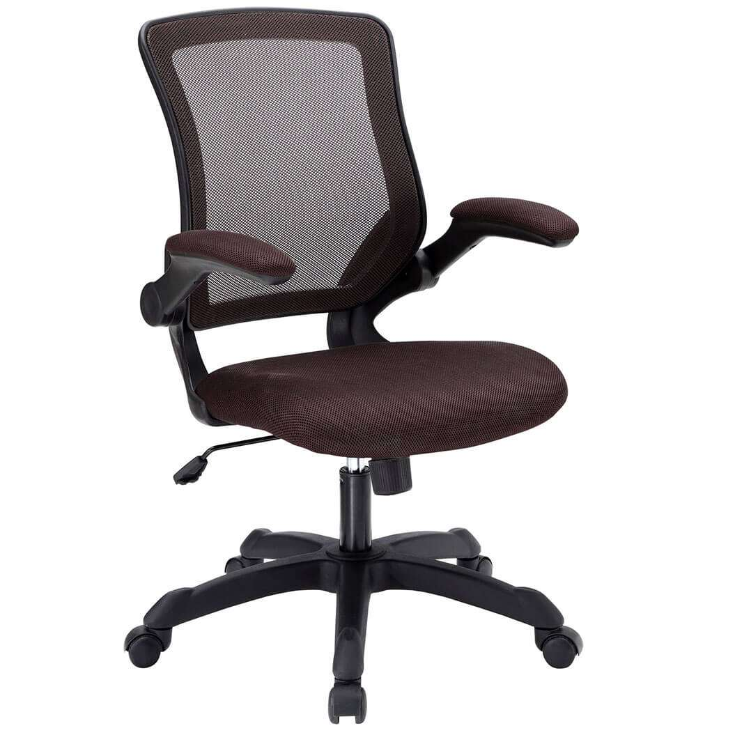 Colorful desk chairs CUB EEI 825 BRN MOD