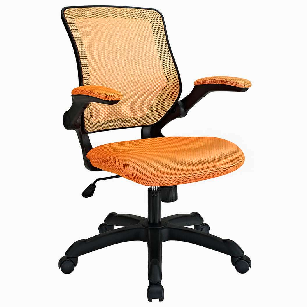 Colorful desk chairs CUB EEI 825 ORA MOD