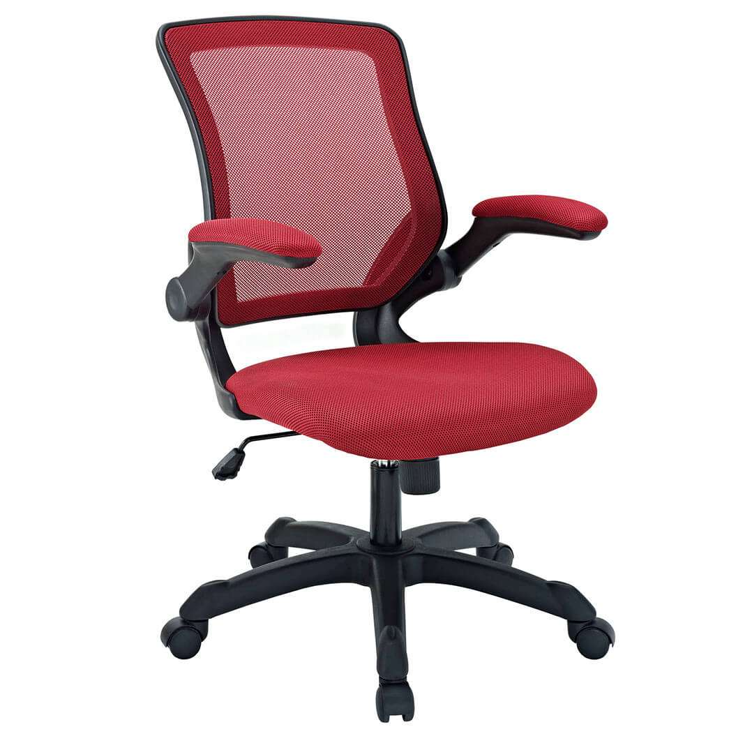 Colorful desk chairs CUB EEI 825 RED MOD