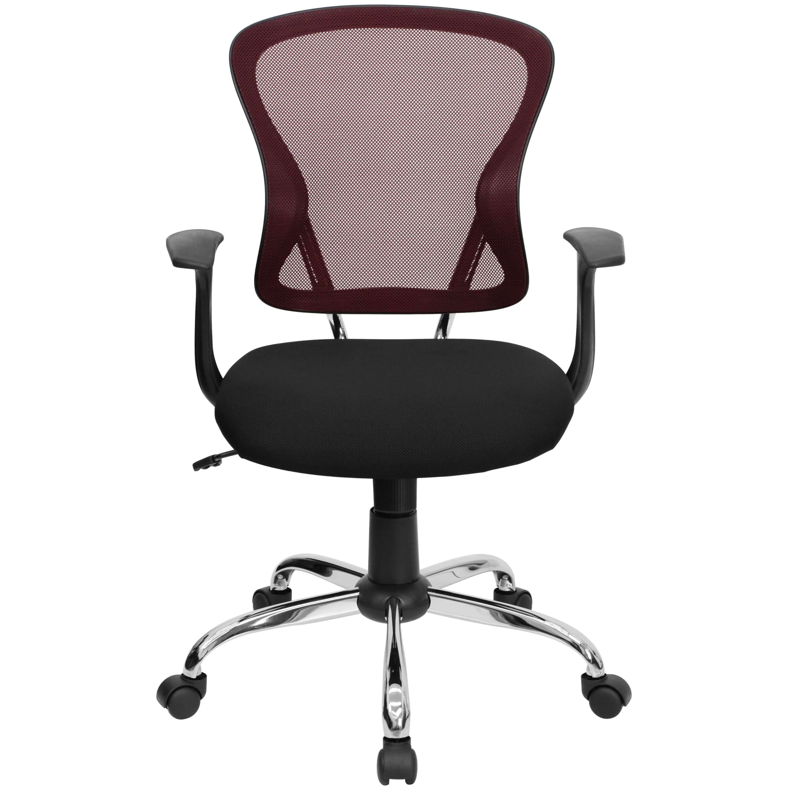 Colorful desk chairs CUB H 8369F BG GG FLA