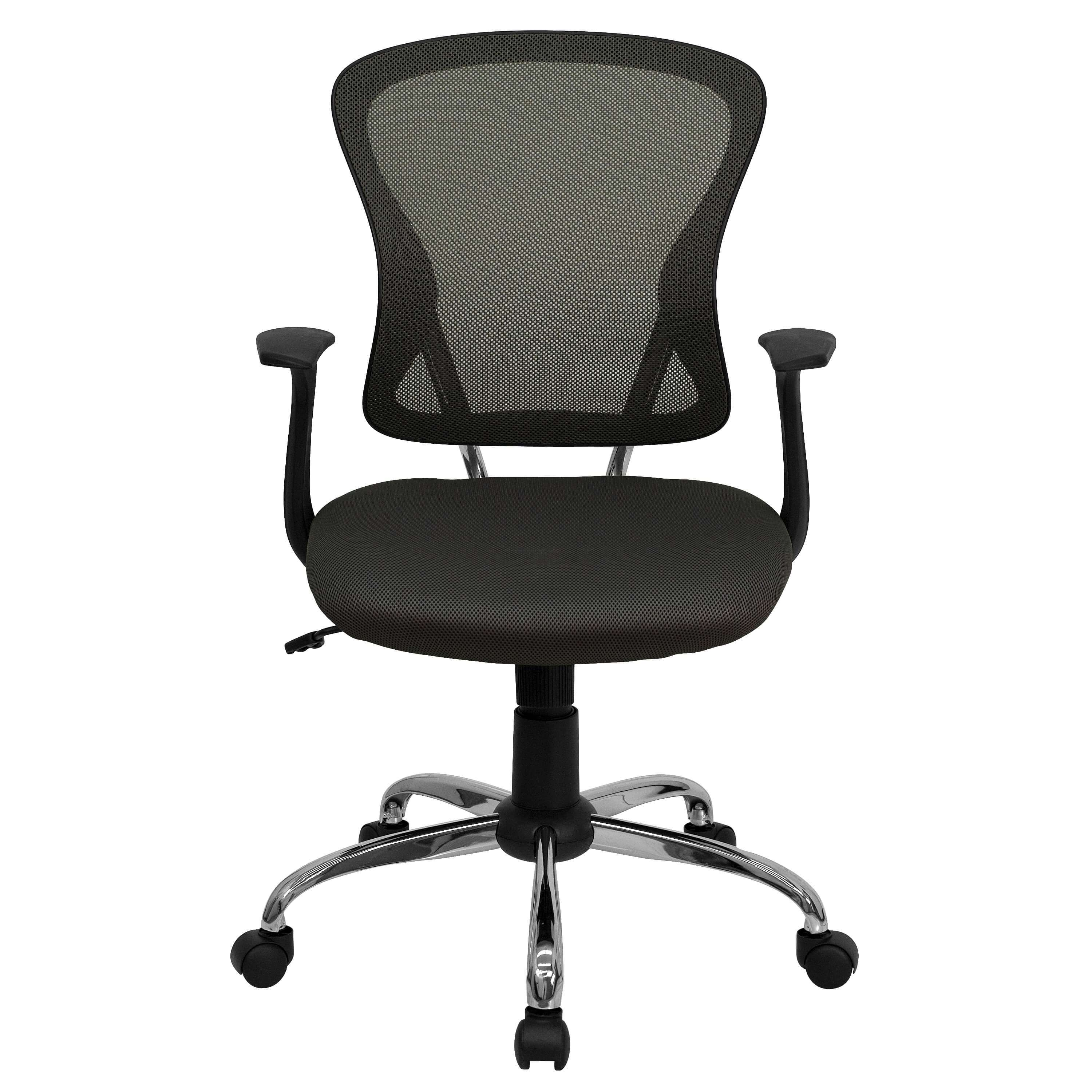 Colorful desk chairs CUB H 8369F DK GY GG FLA