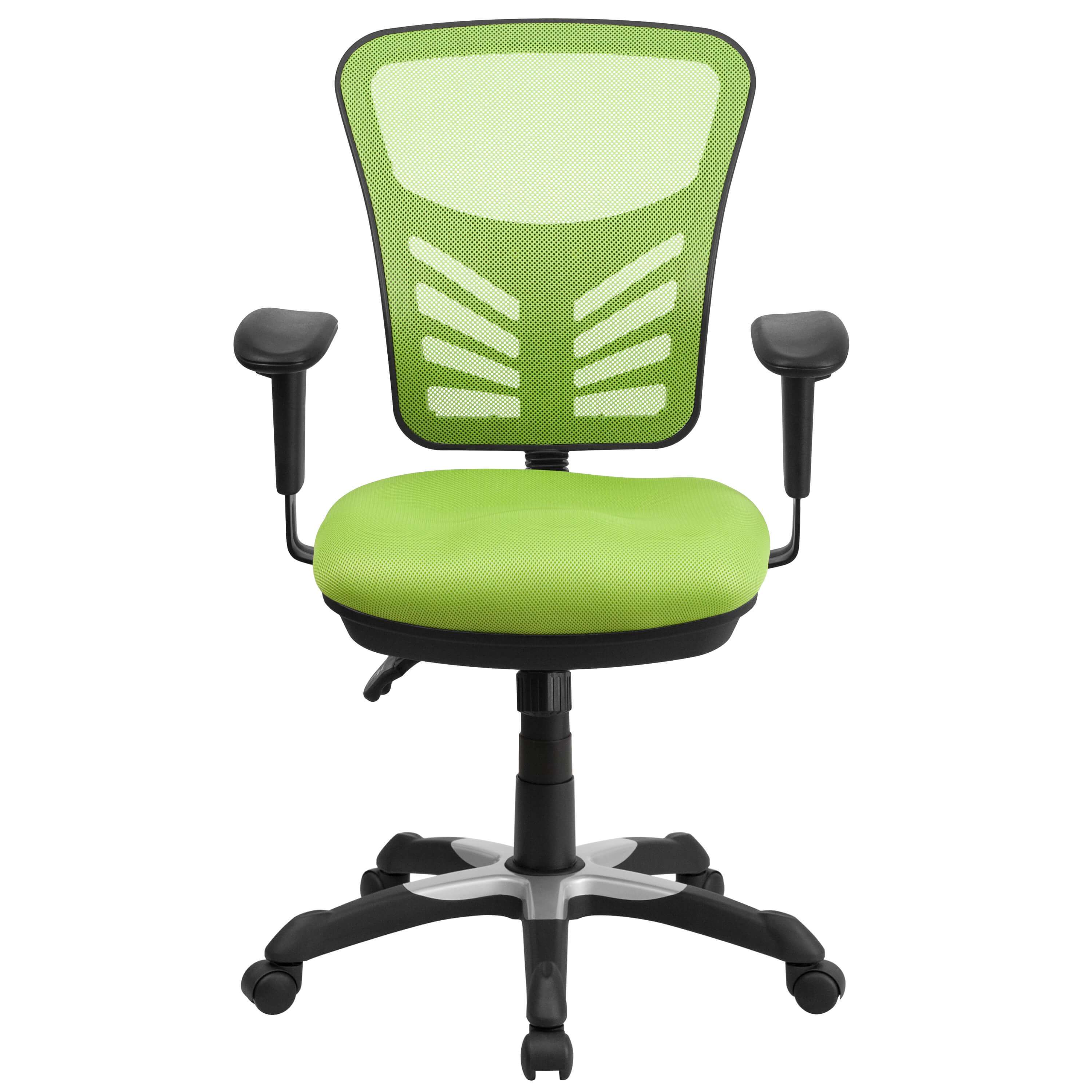 Colorful Desk Chairs CUB HL 0001 GN GG FLA