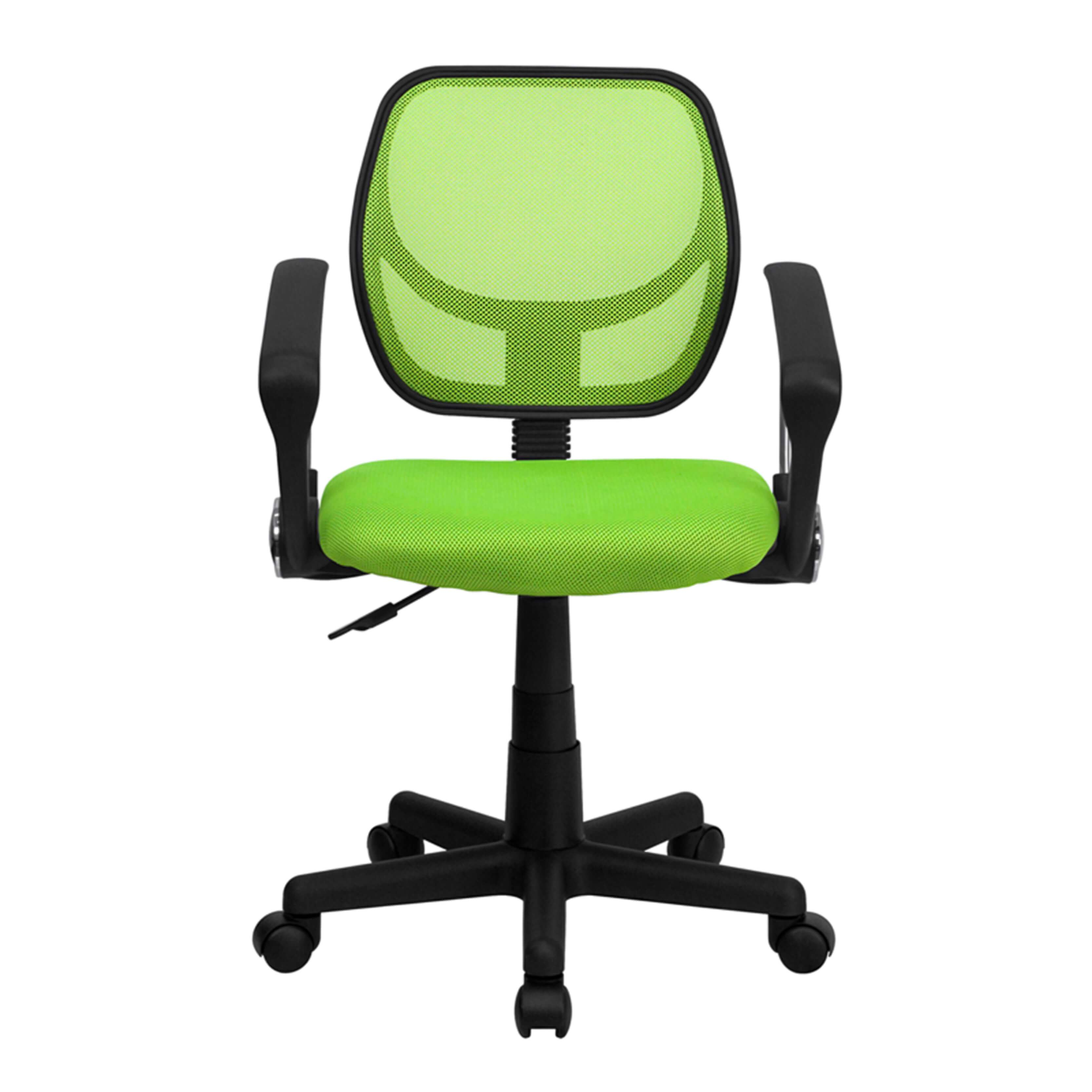 Colorful desk chairs CUB WA 3074 GN A GG FLA