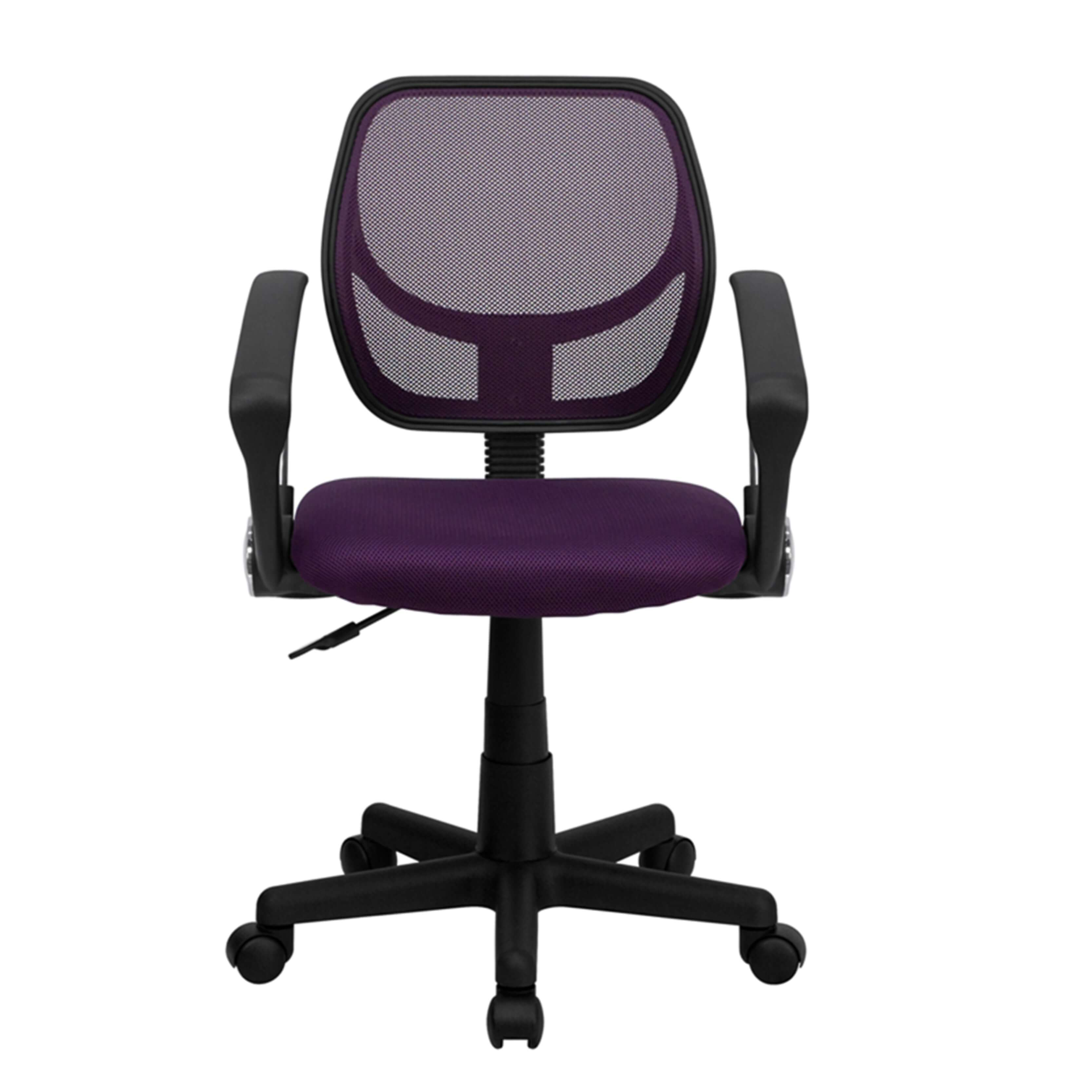 Colorful desk chairs CUB WA 3074 PUR A GG FLA