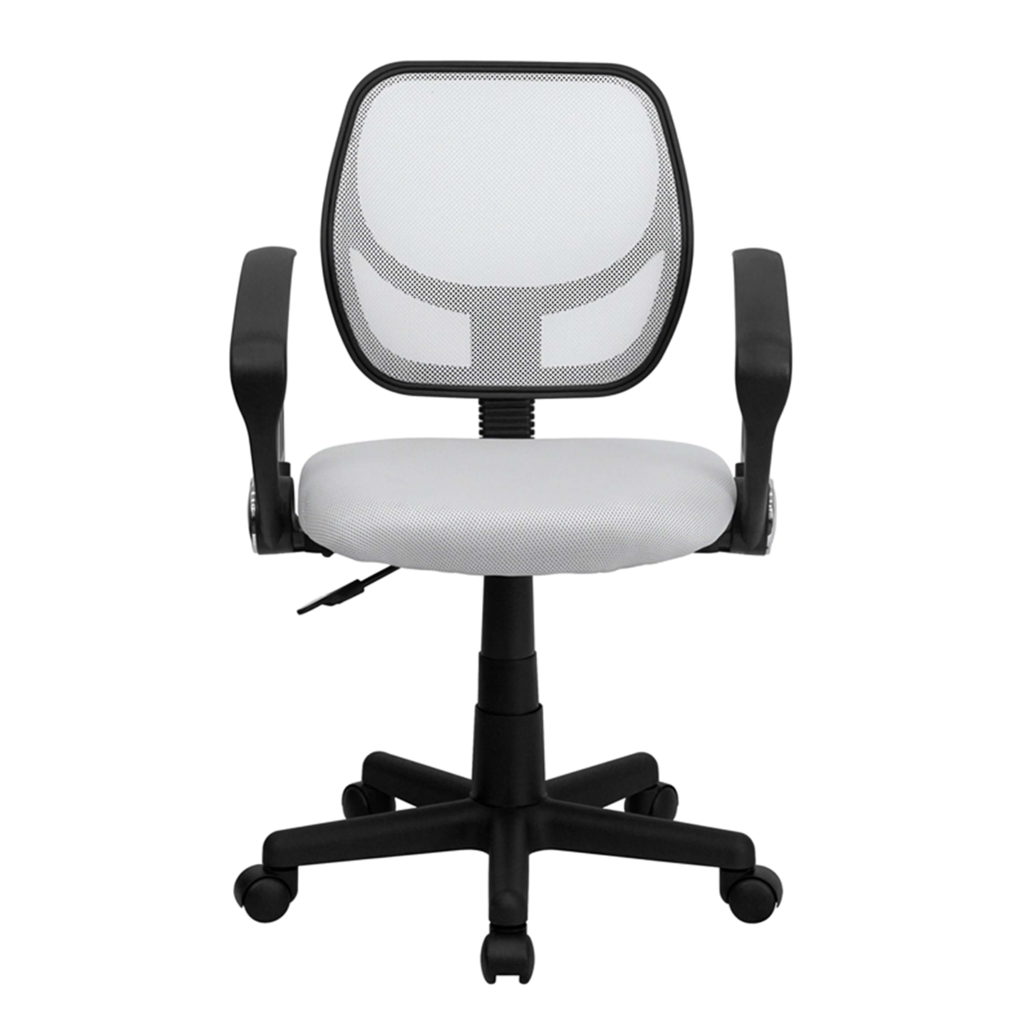 Colorful desk chairs CUB WA 3074 WHT A GG FLA
