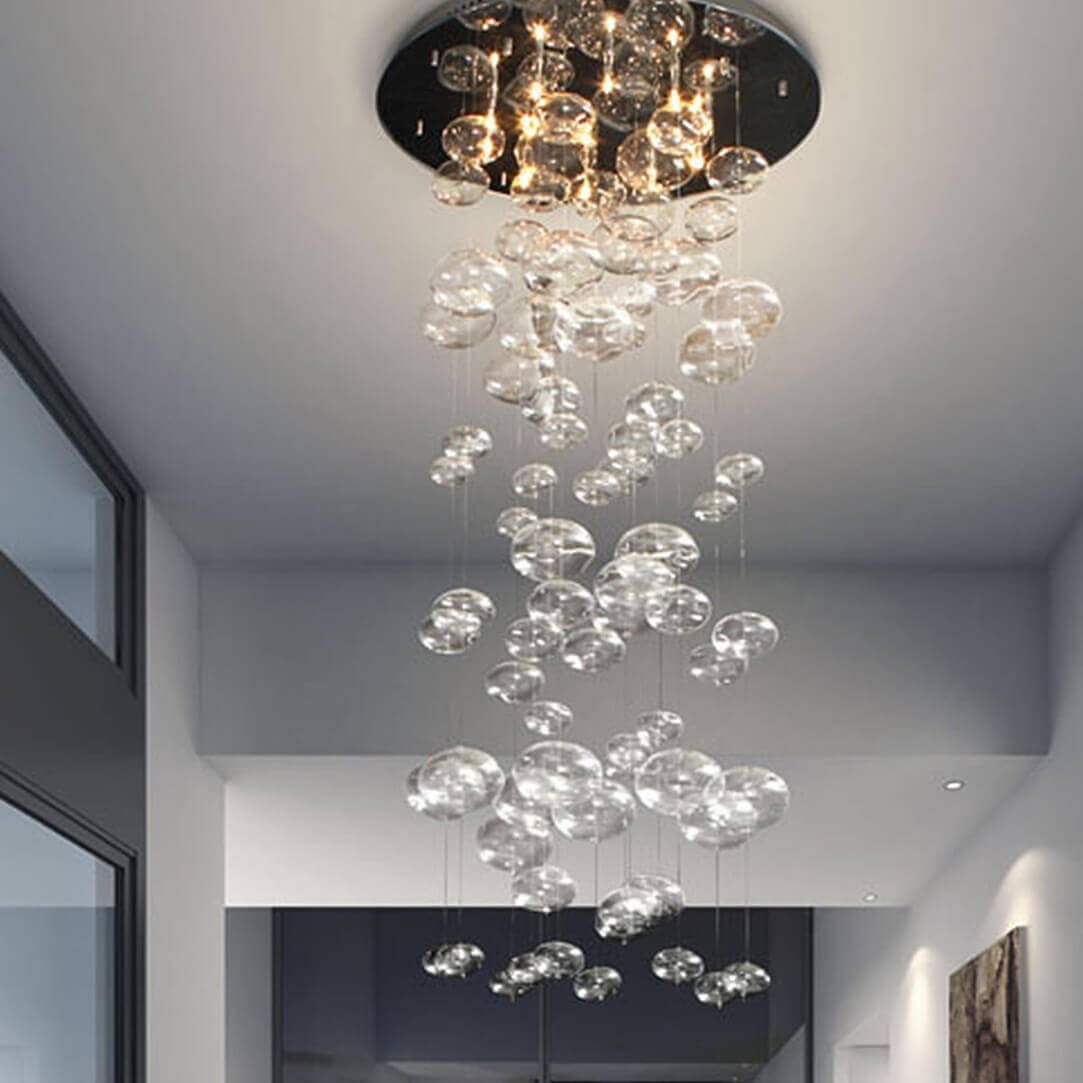 Contemporary chandeliers environmental view