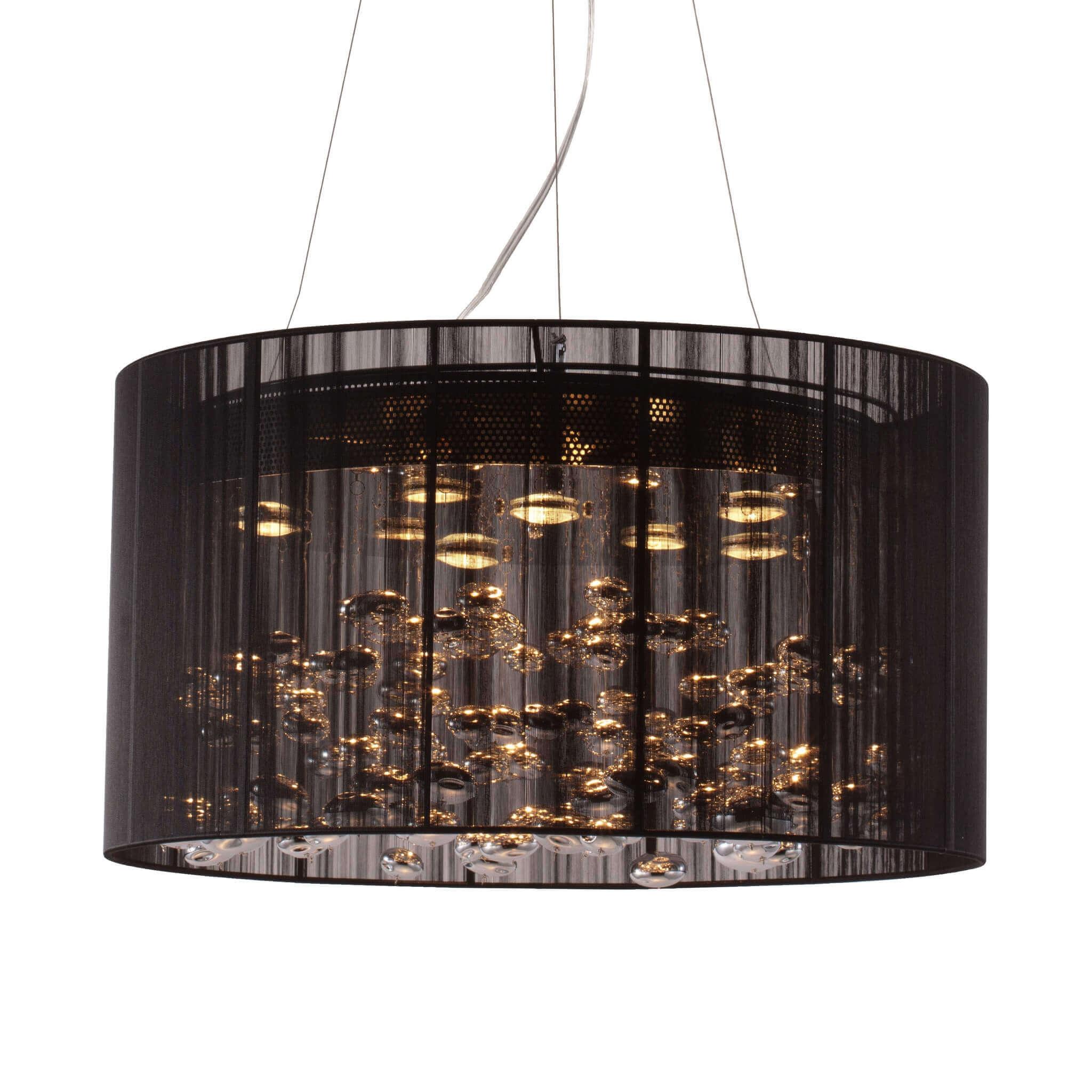 Industrial contemporary lighting Custom Kitchen Cubicles Soare Black Industrial Pendant Light