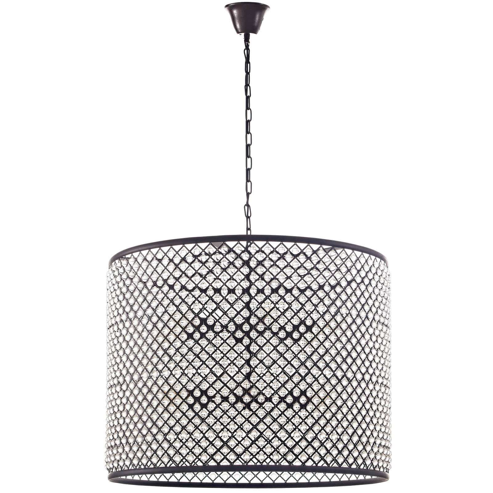 Contemporary lighting industrial cage light 1