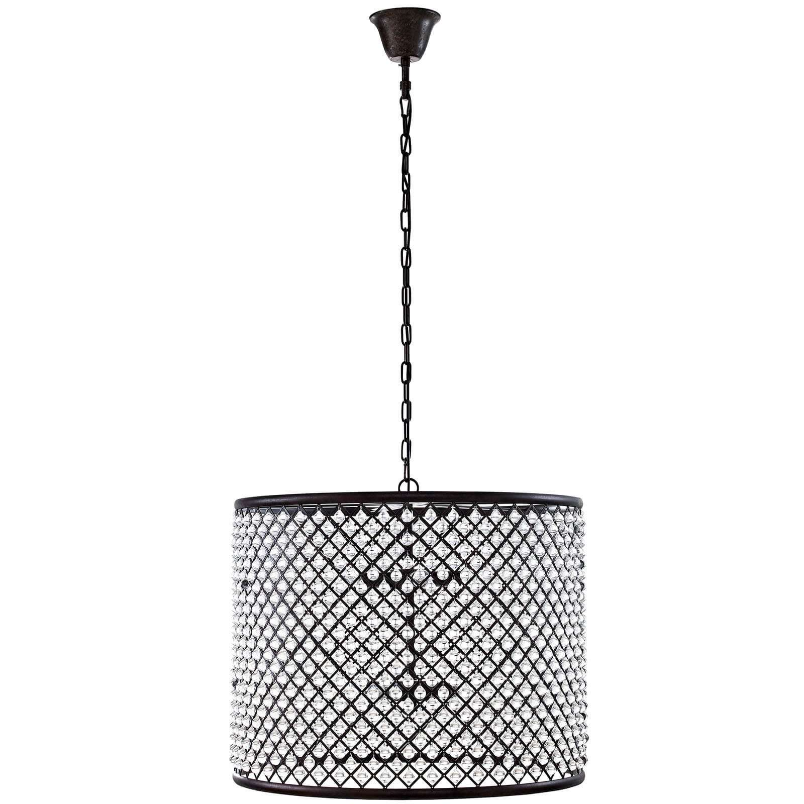 Contemporary lighting industrial cage light