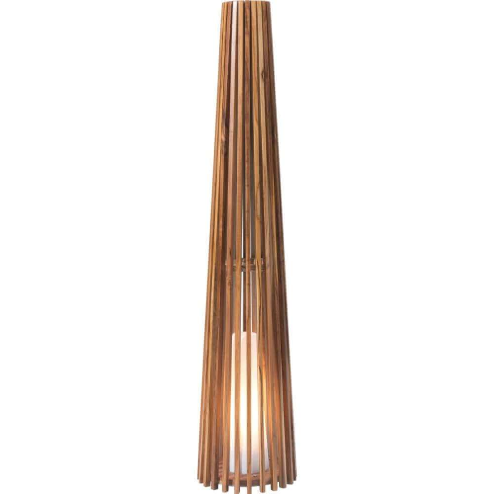 Contemporary lighting wooden lamp base