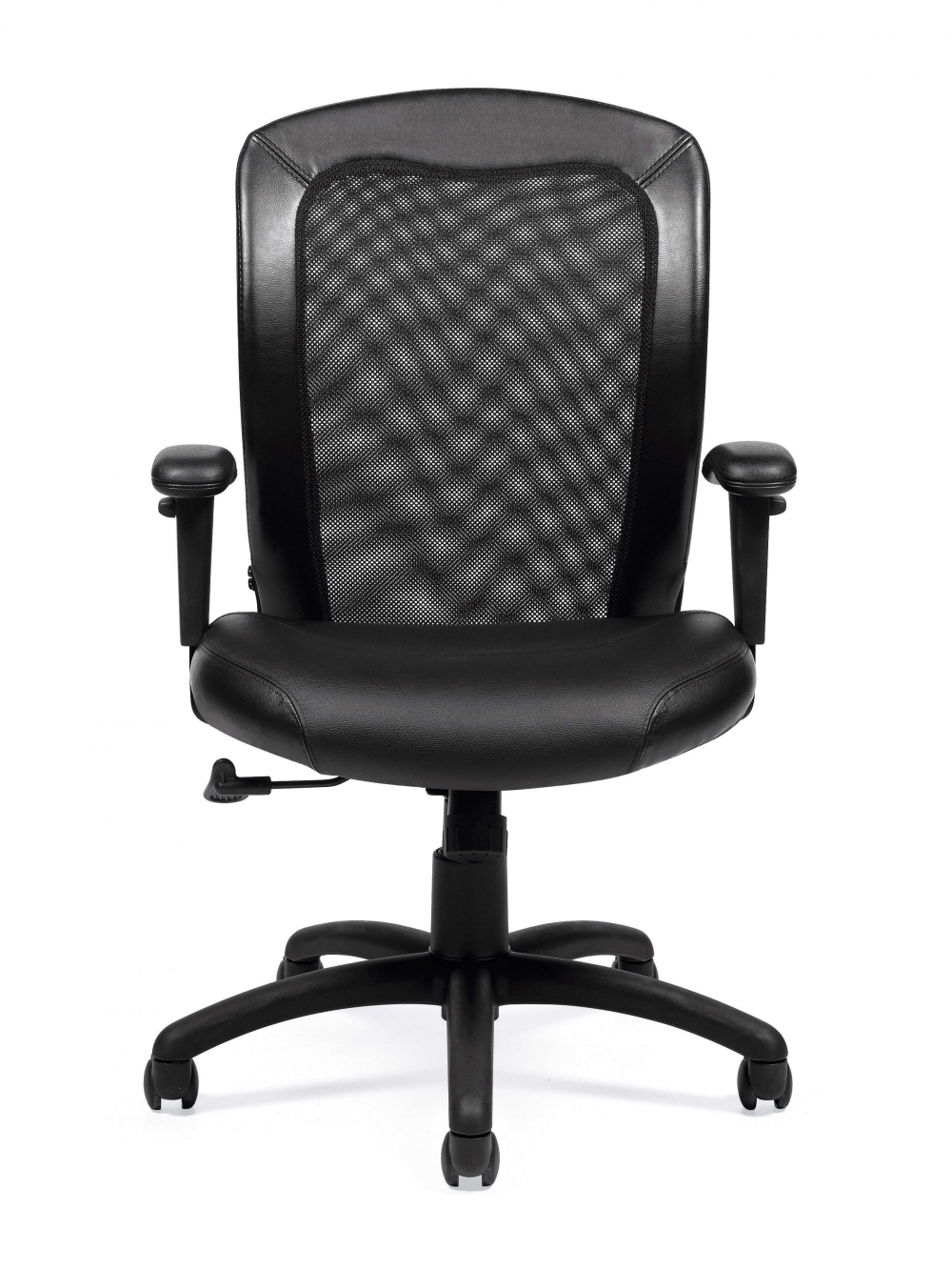 Contemporary office chair front view
