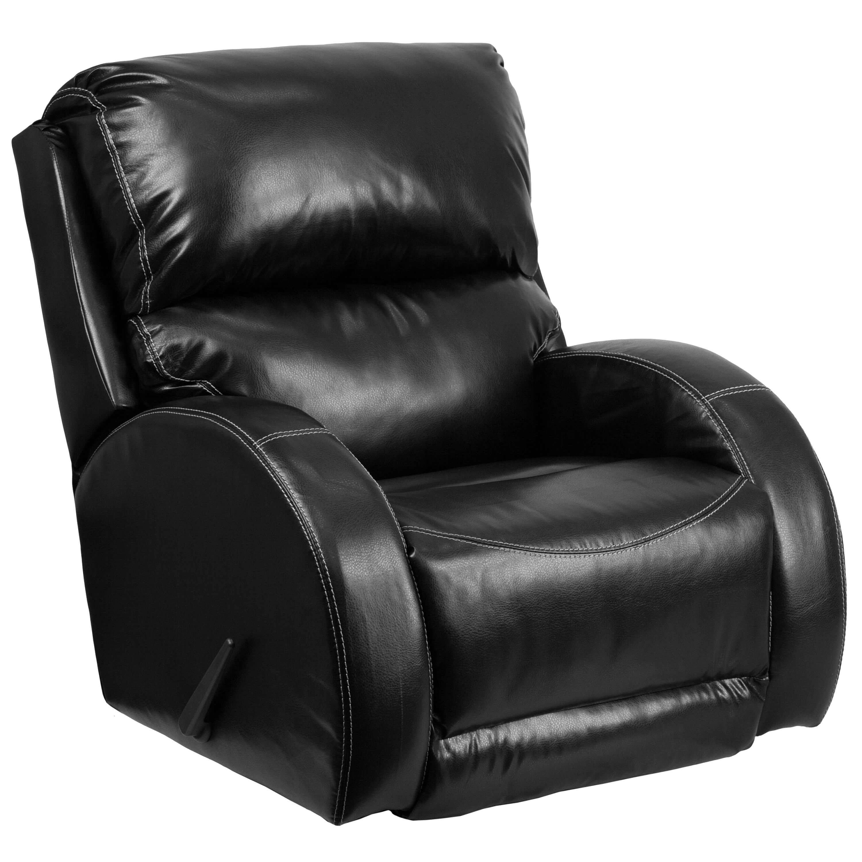 Nicoletti Leather Rocking Recliner