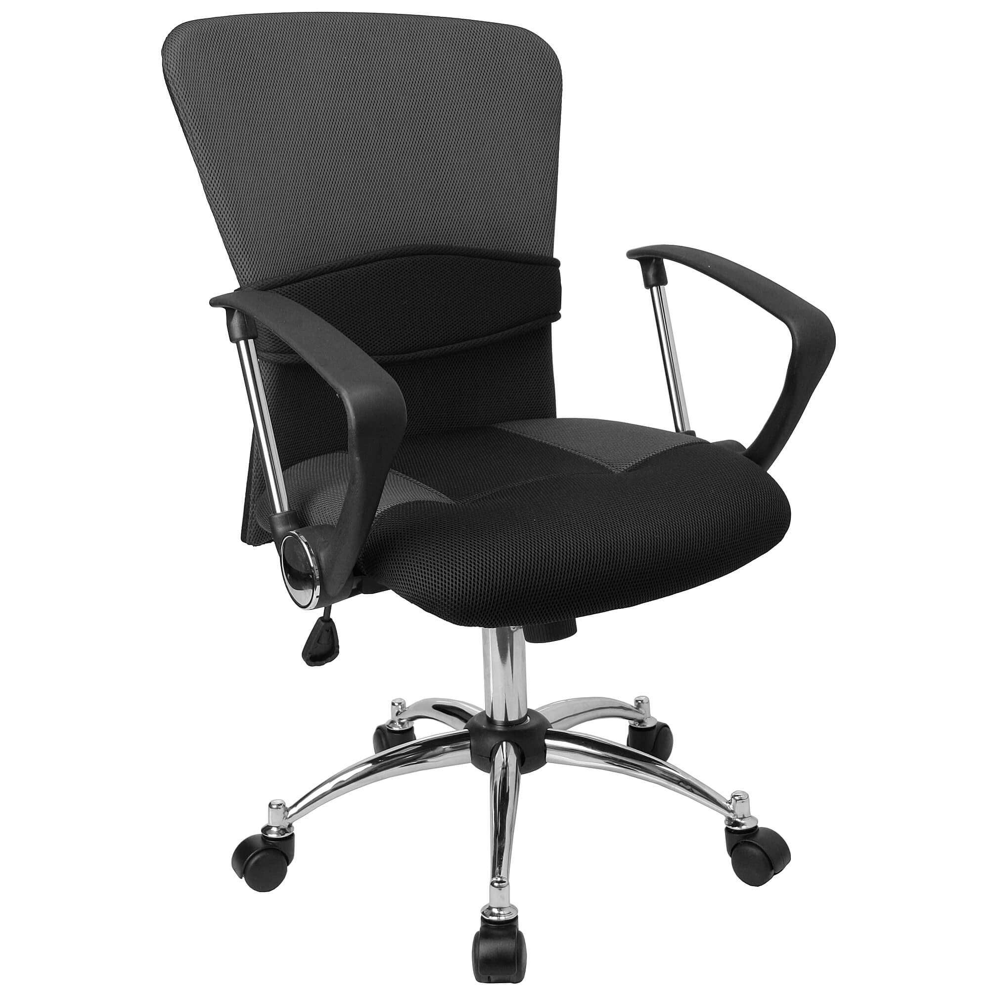 Cool desk chairs CUB LF W23 GREY GG FLA