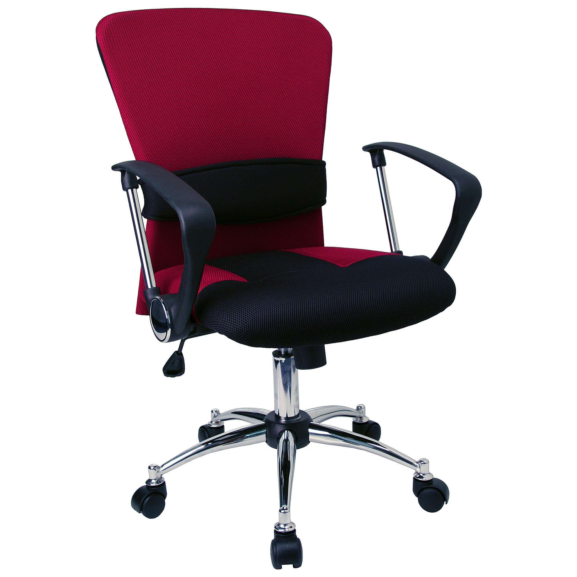 Cool desk chairs CUB LF W23 RED GG FLA