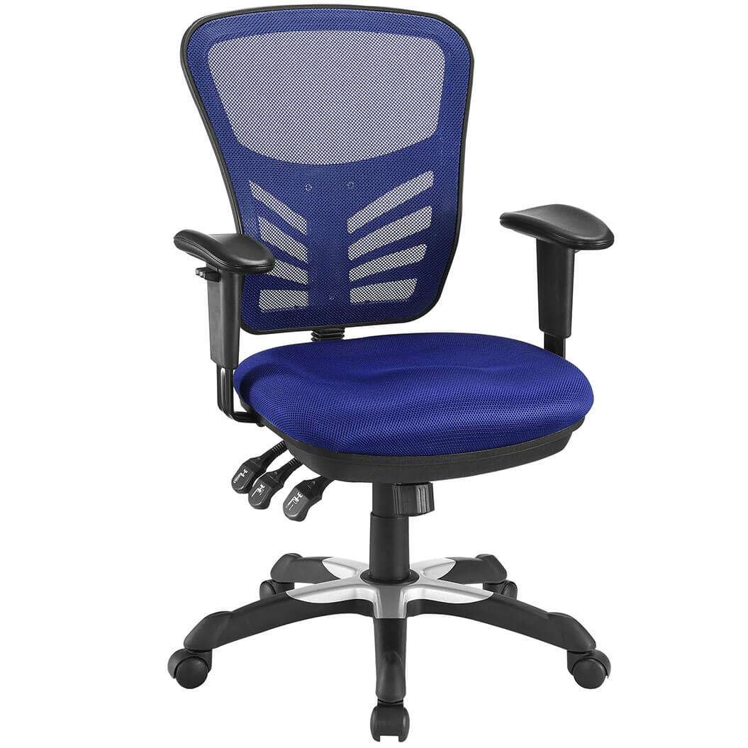 Summit ergonomic mesh office chair for Colorful office furniture