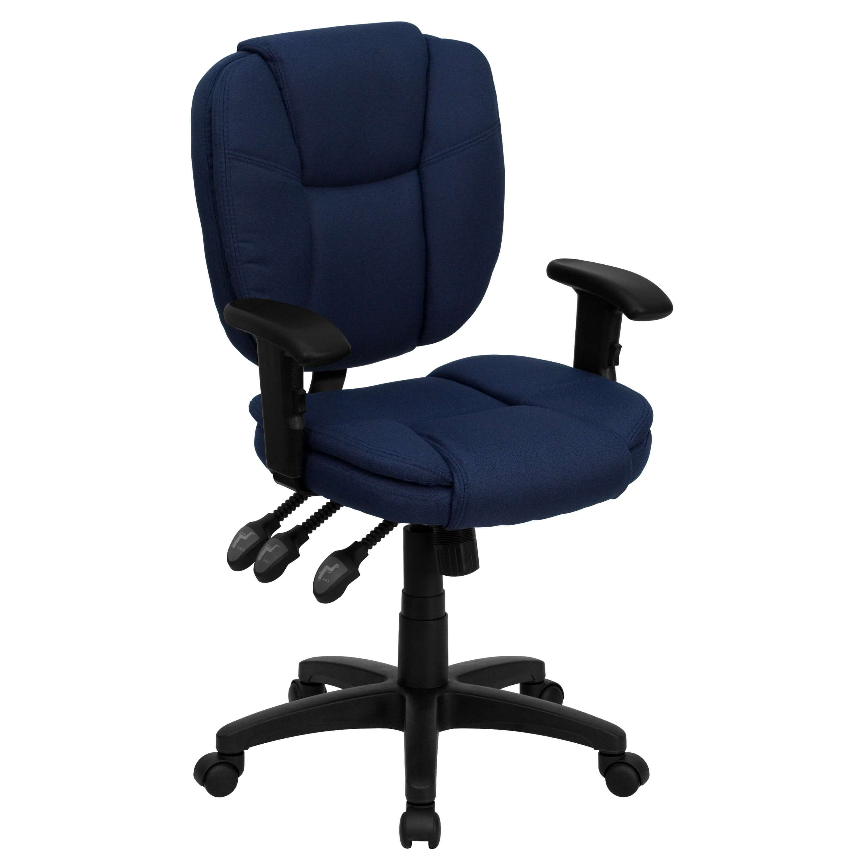 leo traditional office chair