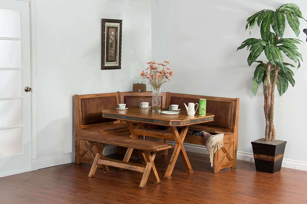 Corner nook dining set environmental