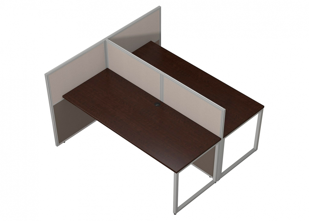 Corporate office furniture aerial