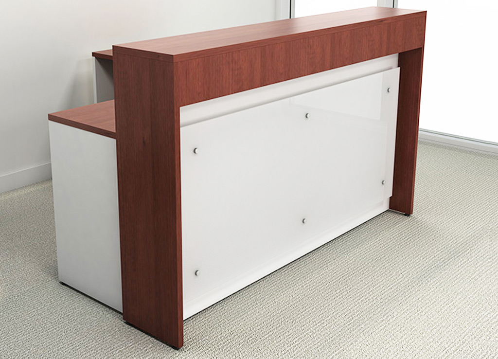 cool custom reception desk furniture | Hola Reception Counter