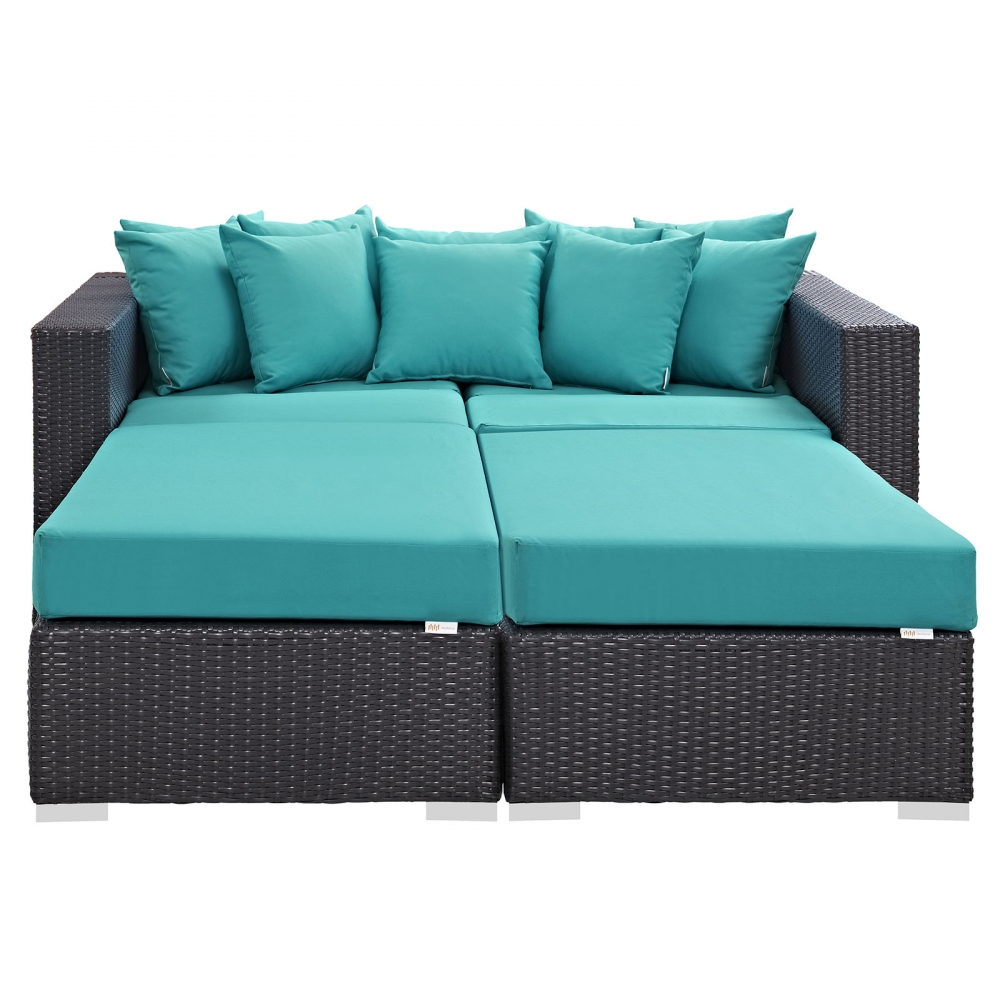 Daybed furniture sets front view