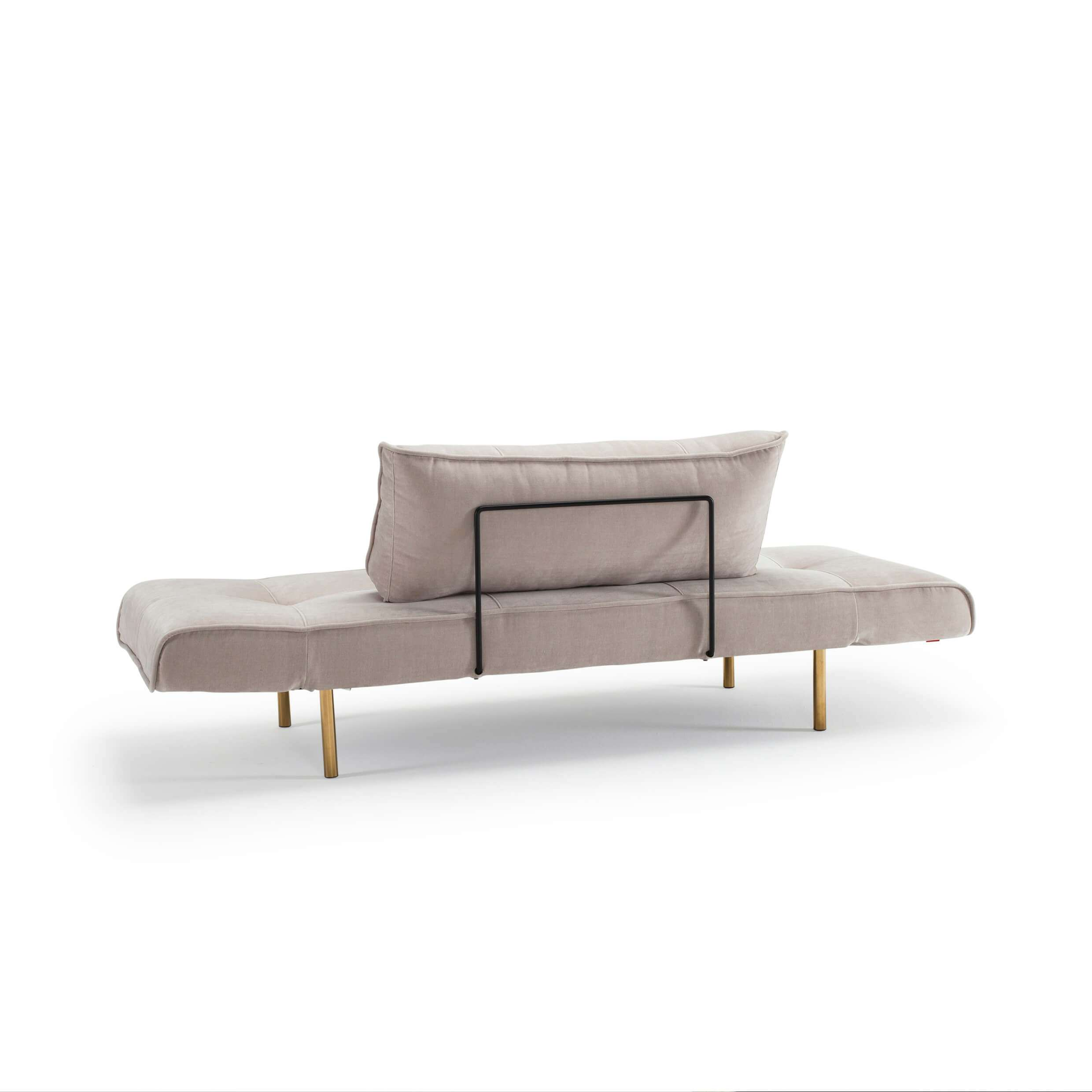 Daybed sofa rear view