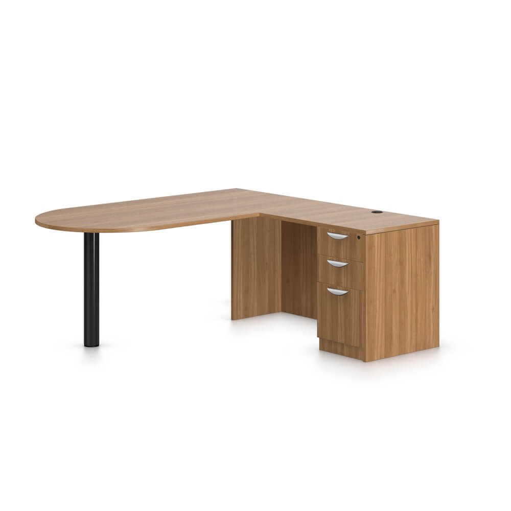 Large L Shaped Desk Brea Office