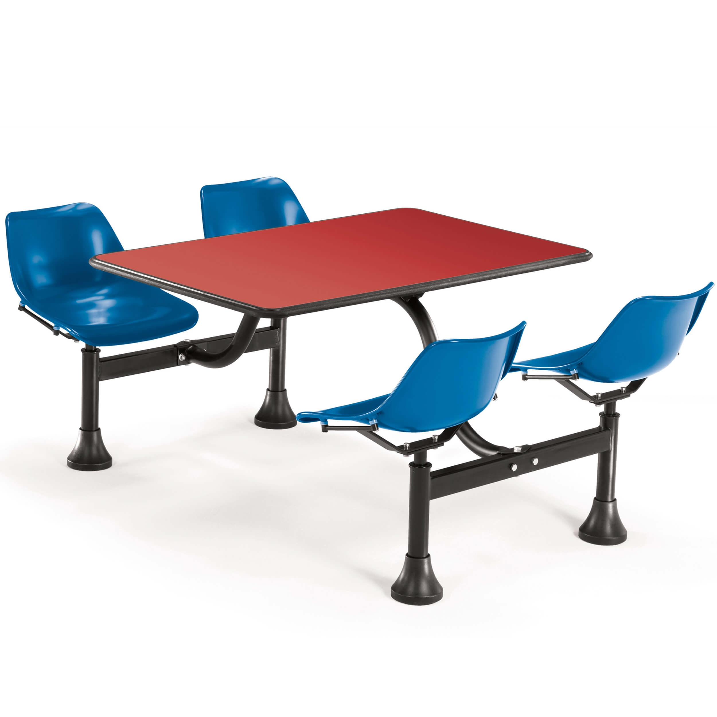 Dining booth CUB 1002 BLUE RED OFM