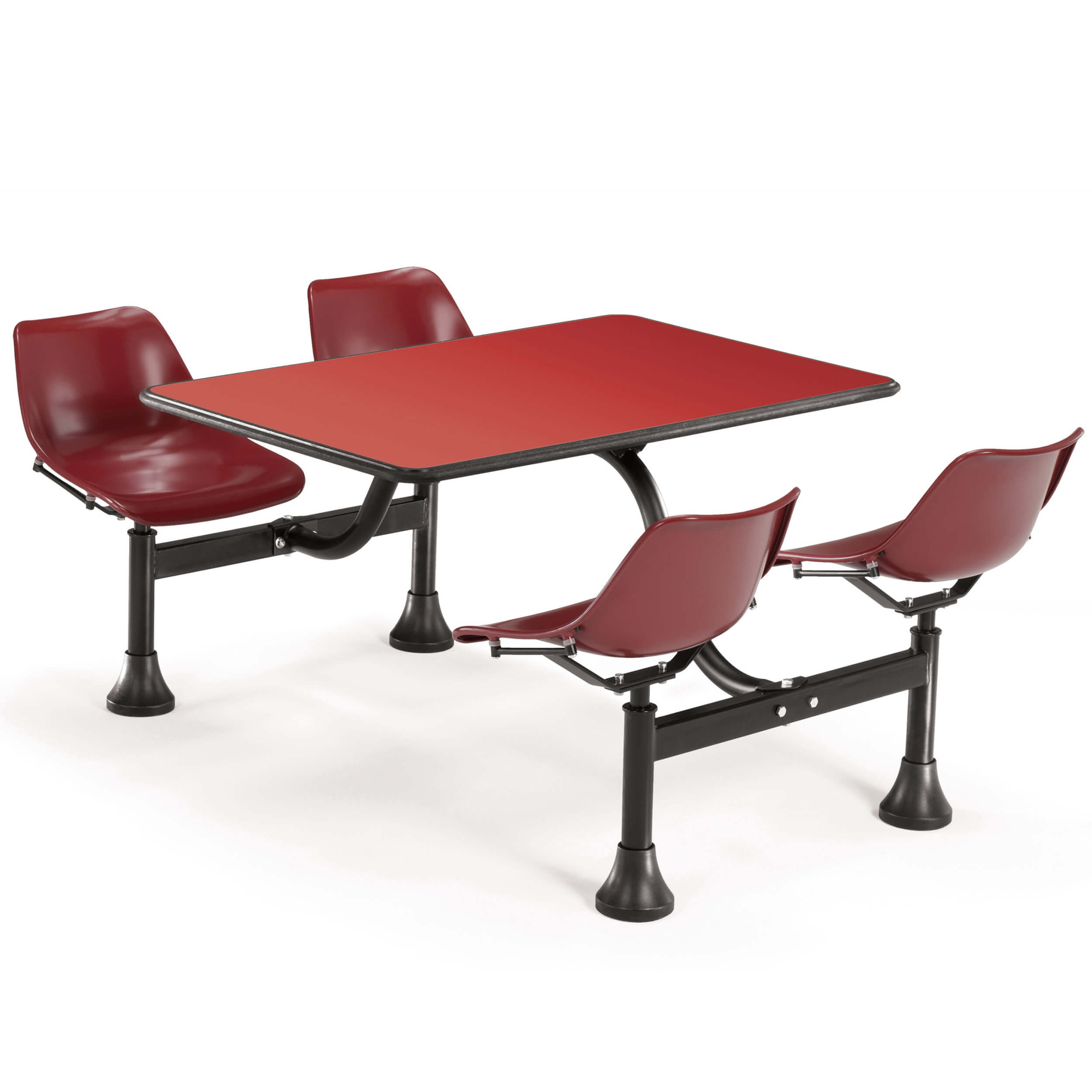 Dining booth CUB 1002 MRN RED OFM