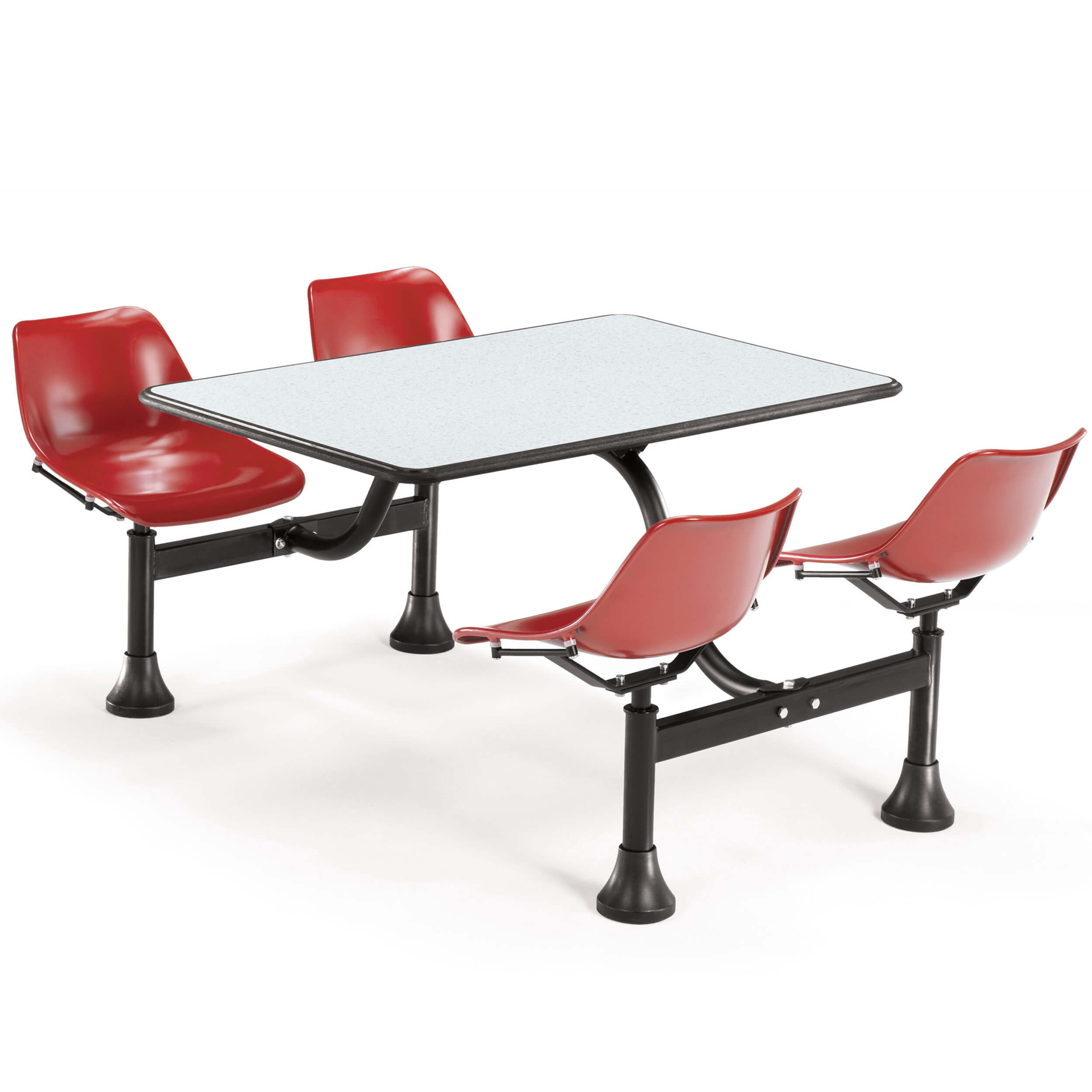 Dining booth CUB 1002 RED BGNB OFM