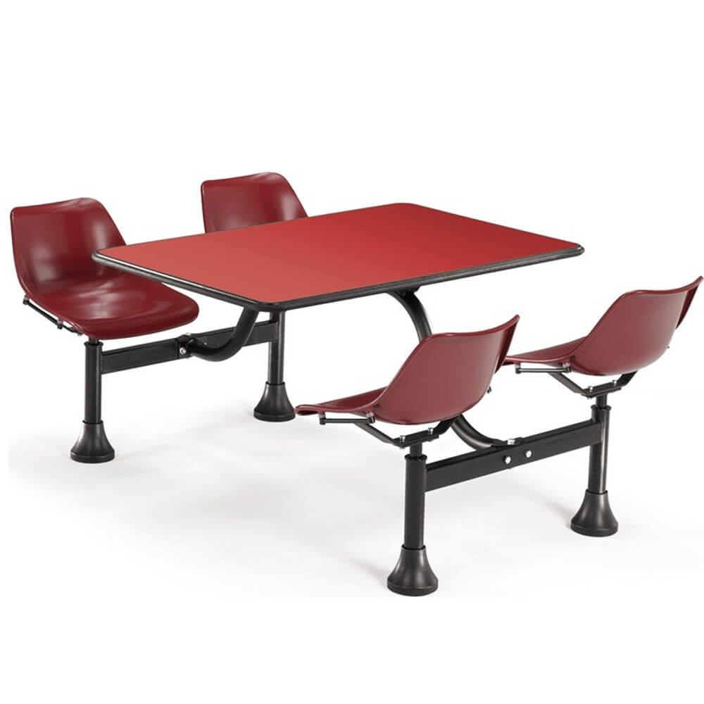 Dining booth CUB 1003 MRN RED OFM