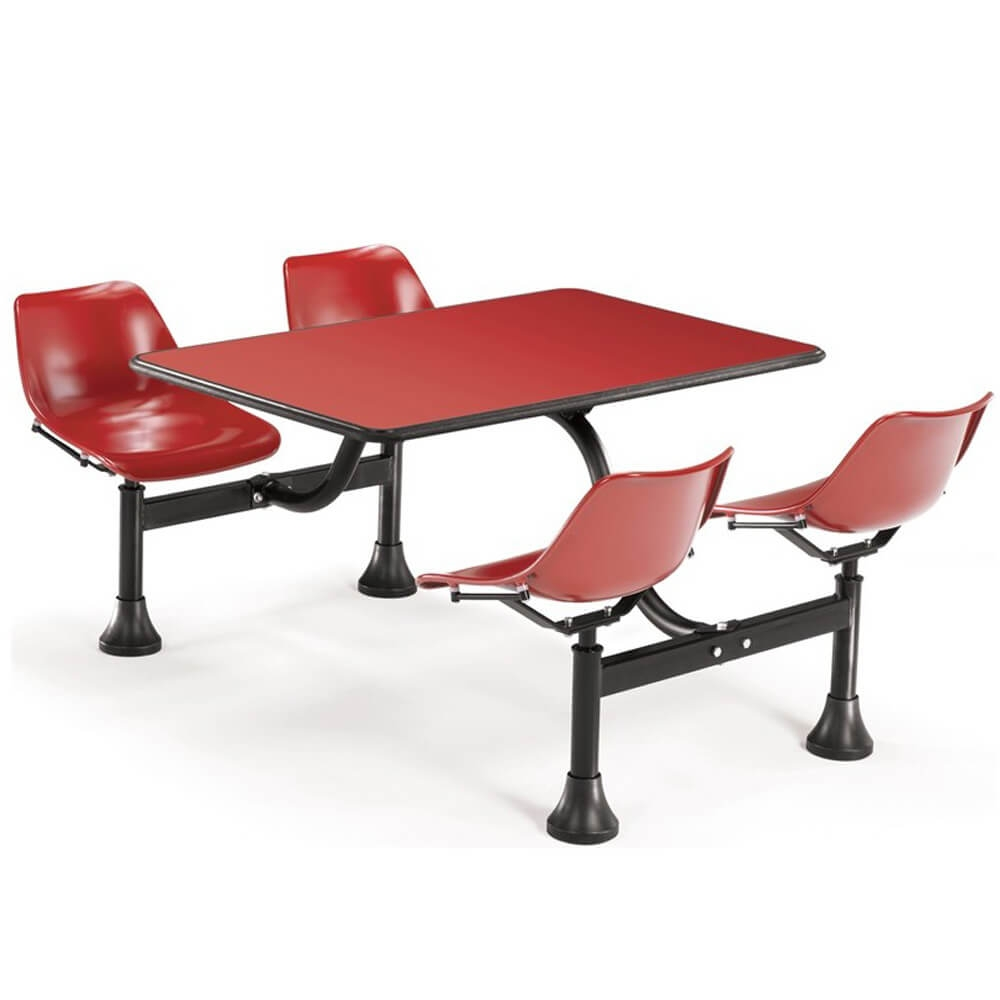Dining booth CUB 1003 RED RED OFM