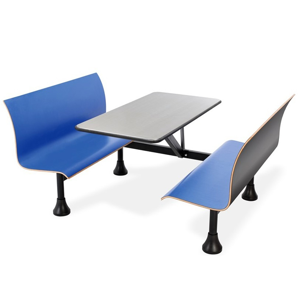 Dining booth CUB 1007W BLUE OFM