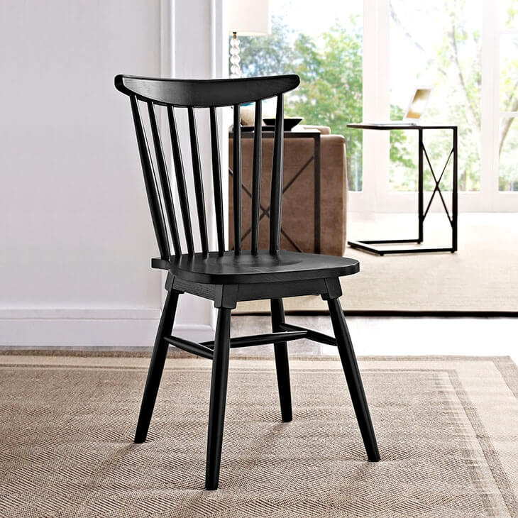 Dining wooden chair environmental 1