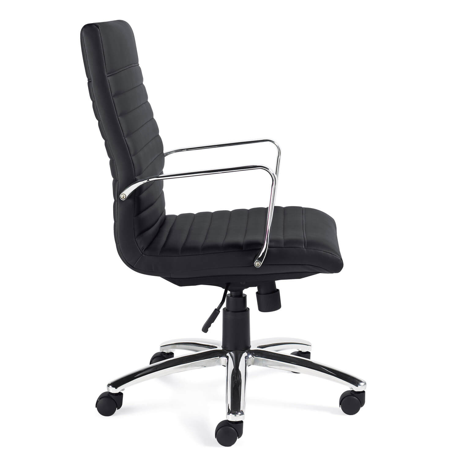 Executive chair side