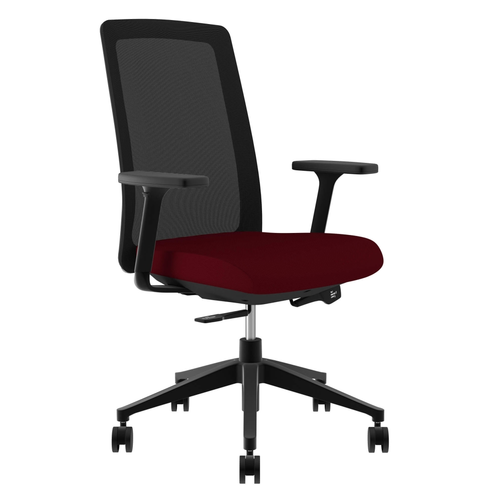 Executive chairs and conference chairs ctm 5000 fx red