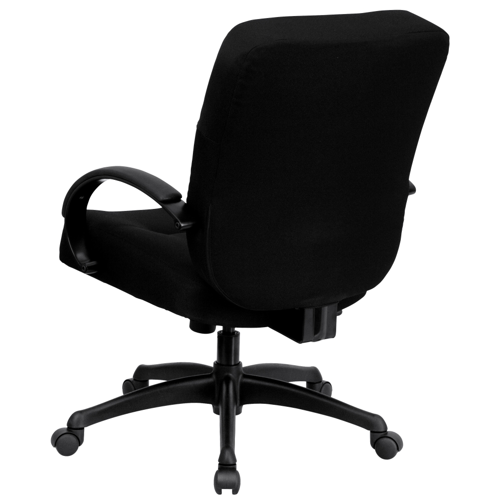 Executive chairs for big and tall rear view