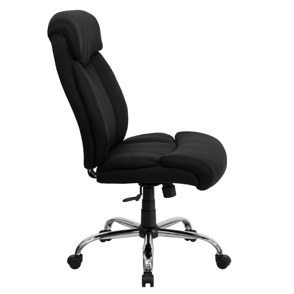 Executive high back office chair side view
