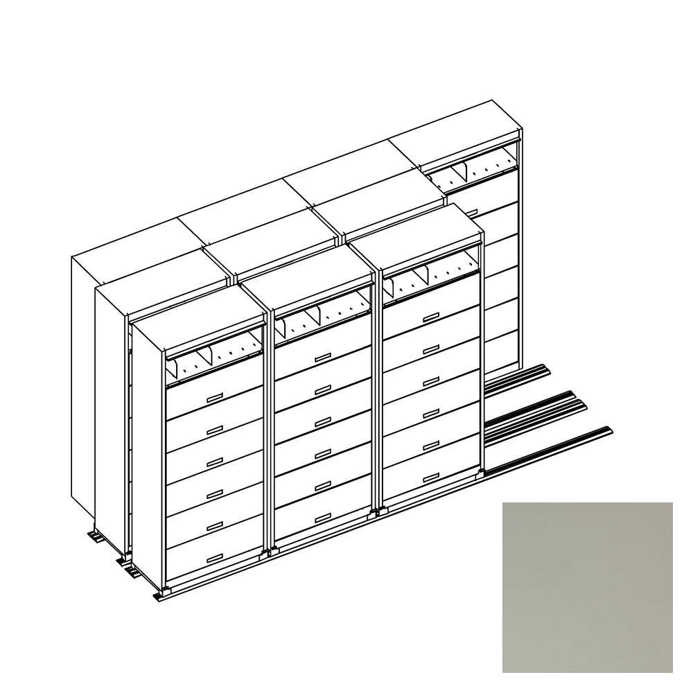 Filing solutions CUB FF743 K PEBBLE GRAY YAM 1