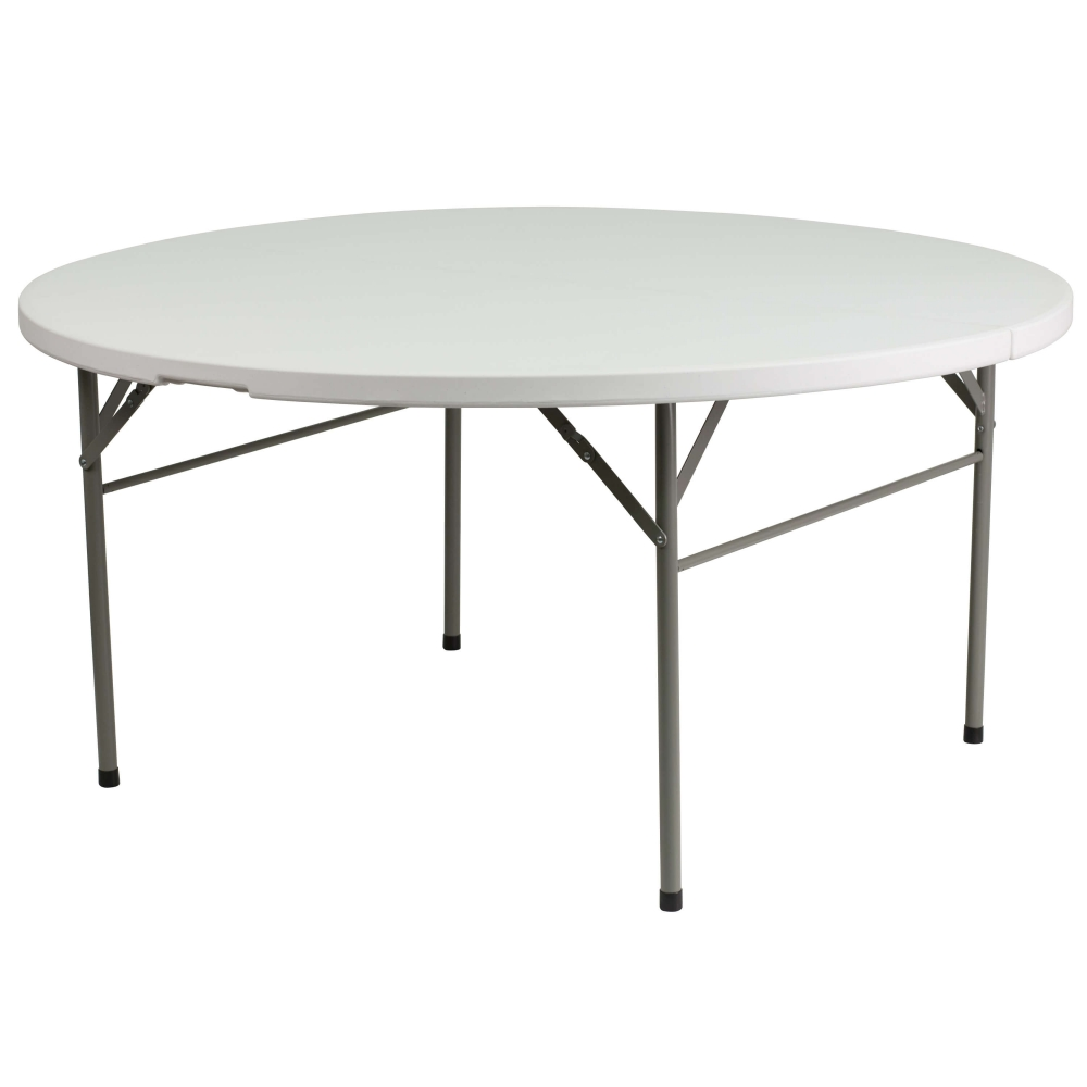 Folding table and chairs large plastic folding table