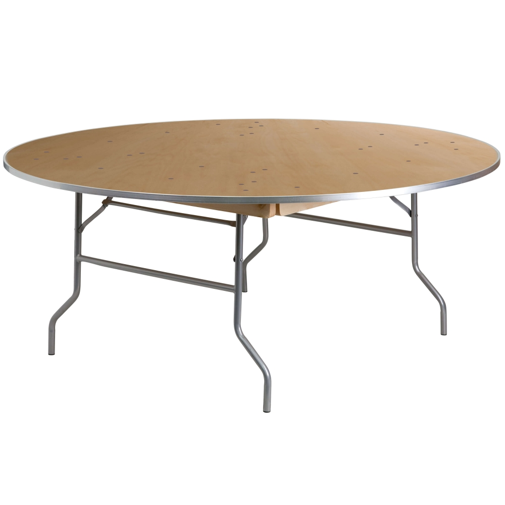 Folding Table And Chairs Round Banquet