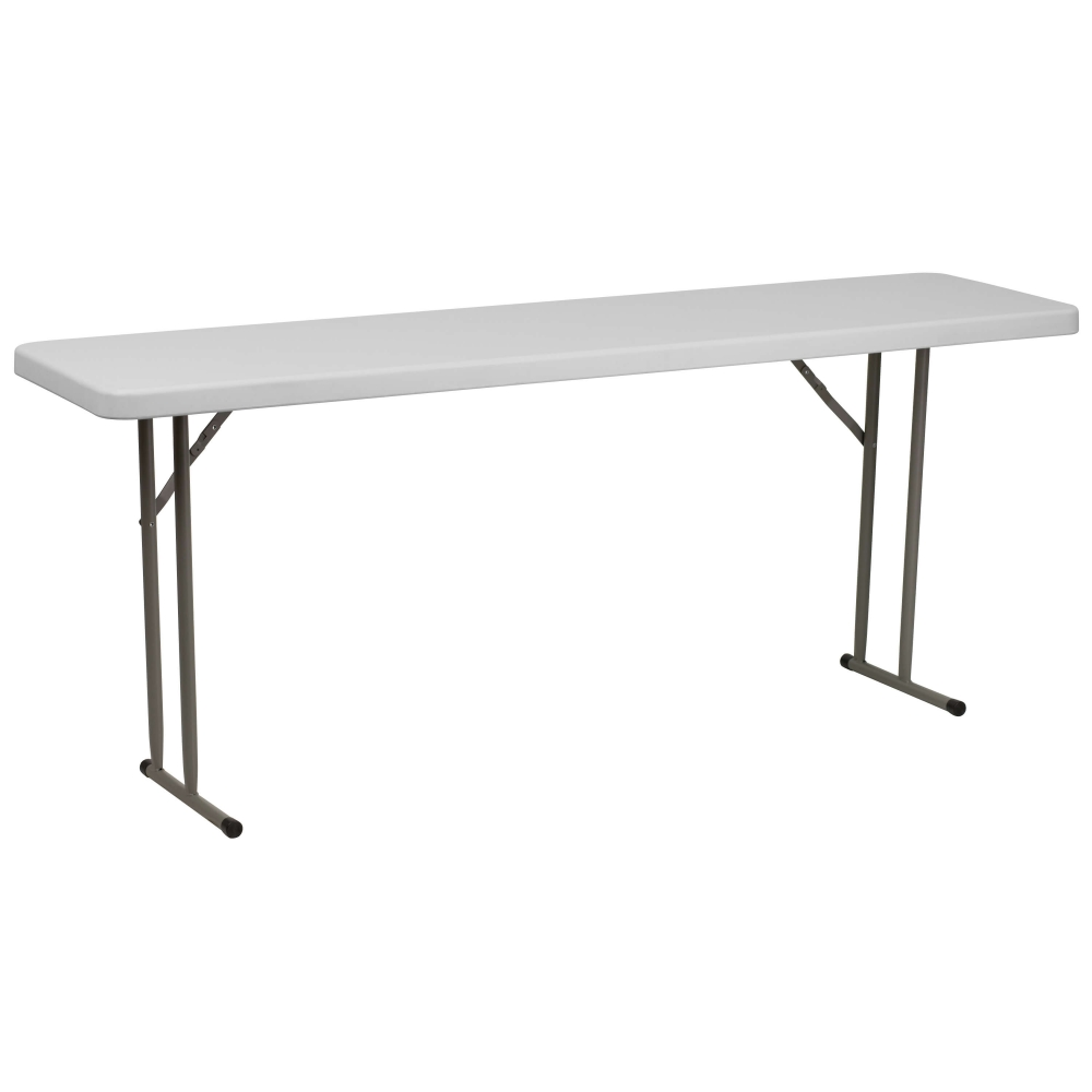 Folding training table front view