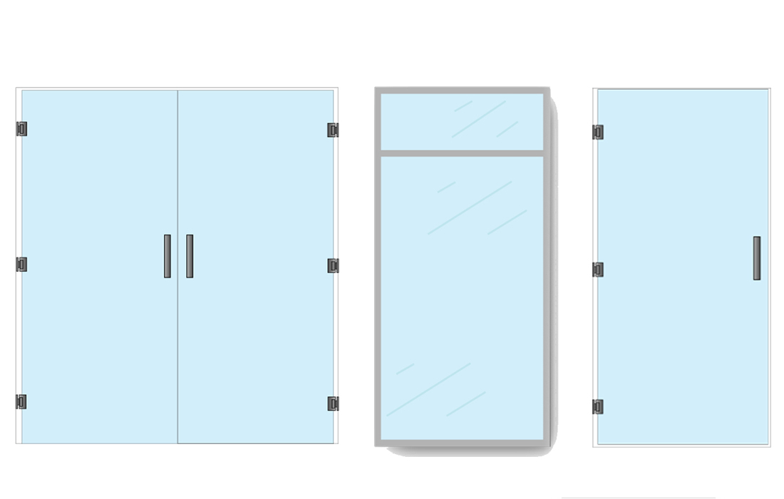 Glass wall systems glass door entry parts