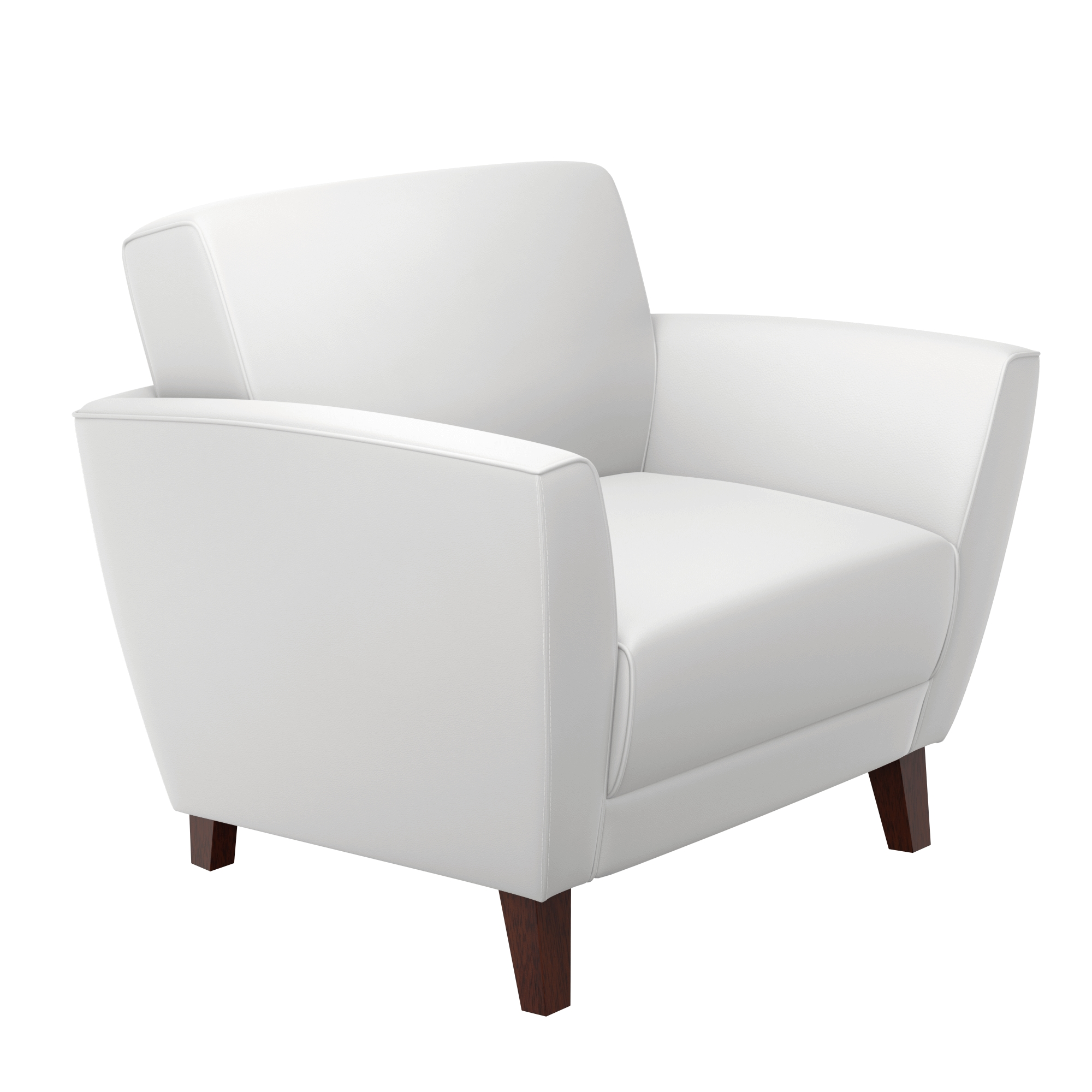 Guest chairs CUB CLL11750WHITE MOC