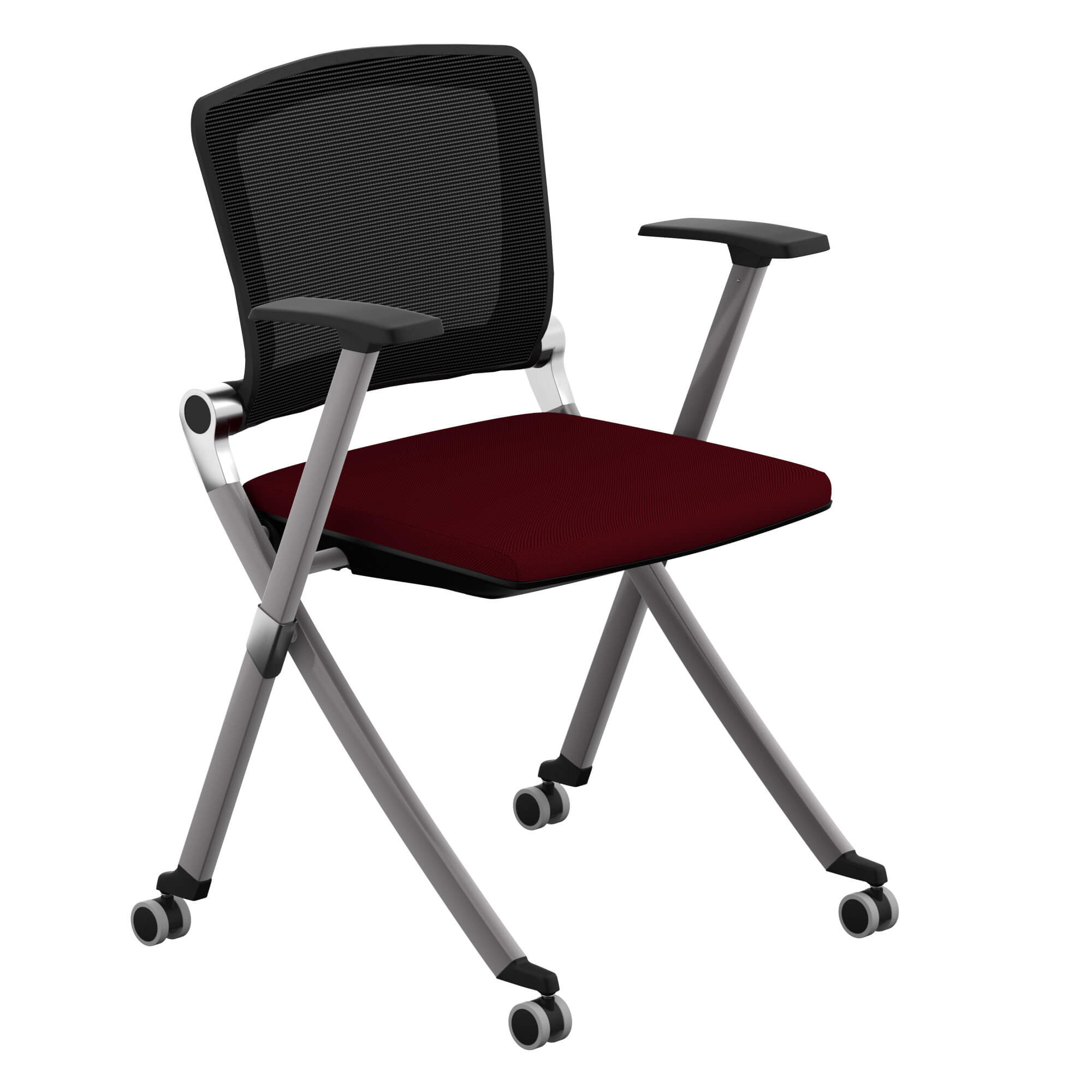 Guest chairs cmf 6400 fx red 1