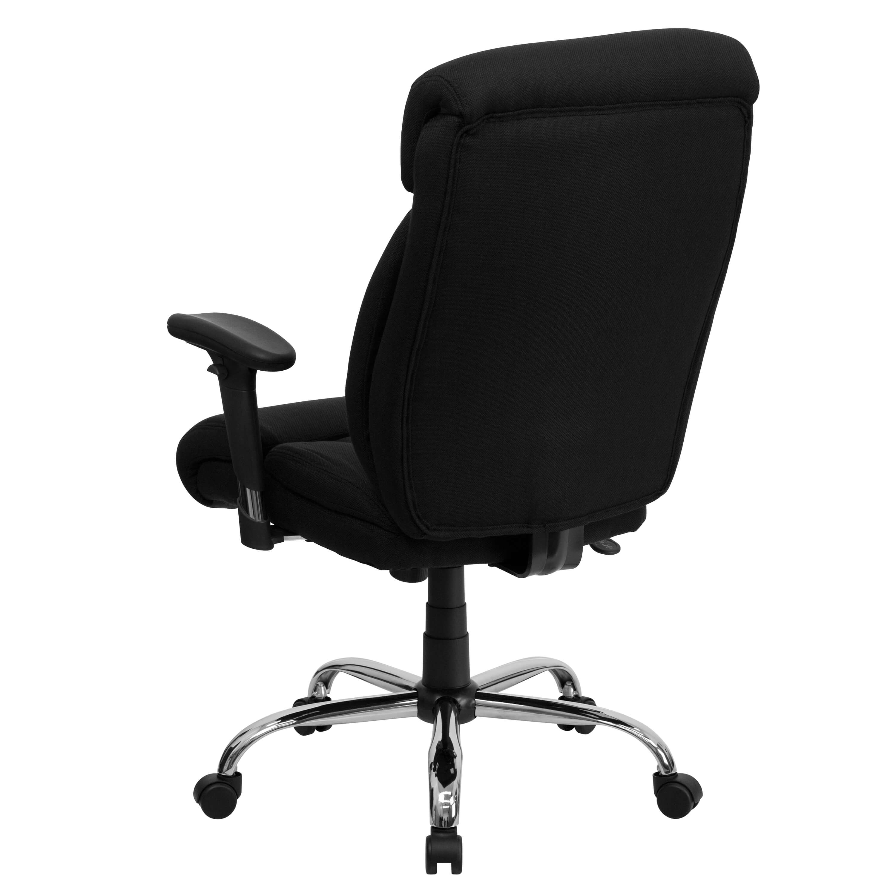 Heavy duty ergonomic office chairs back view