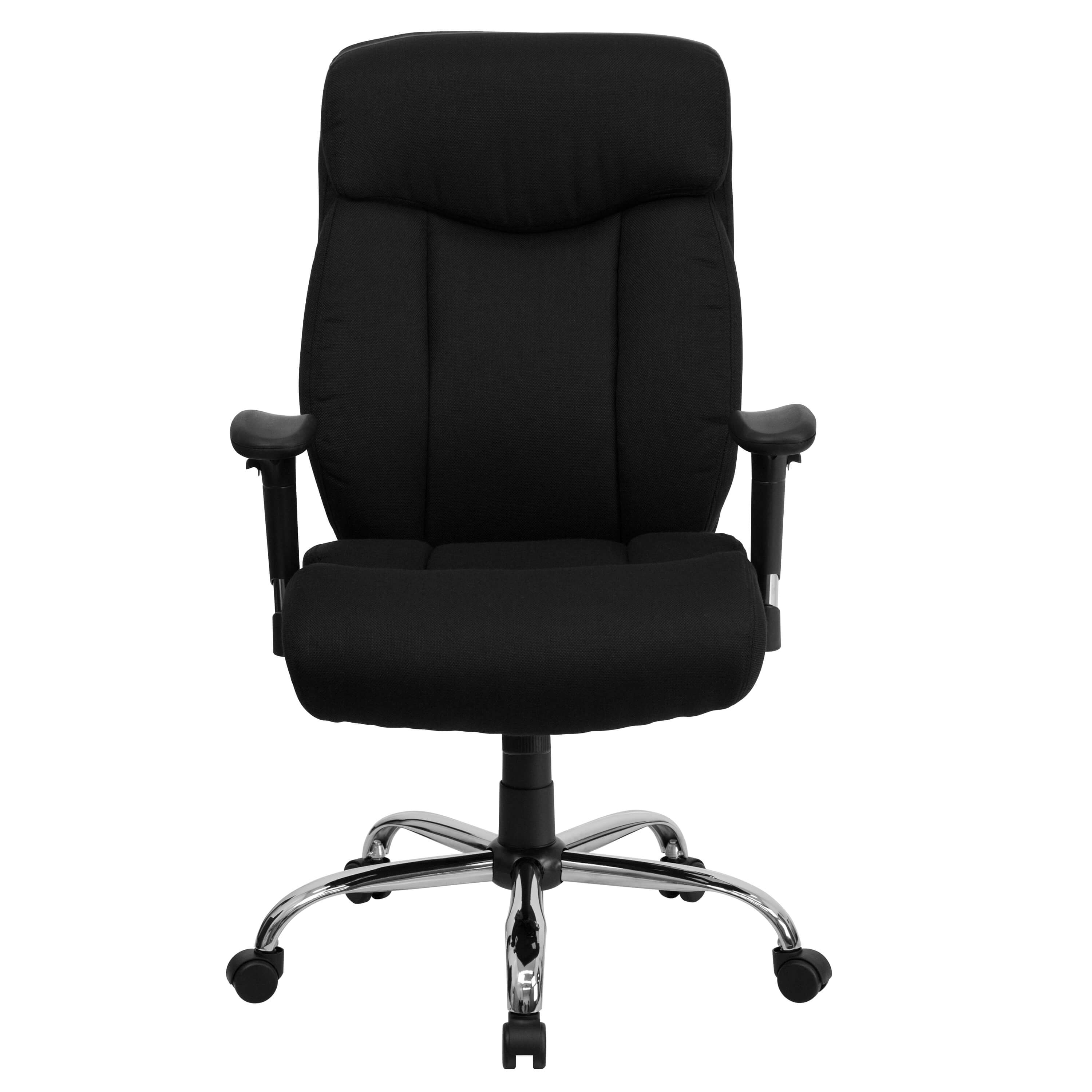 Heavy duty ergonomic office chairs front view