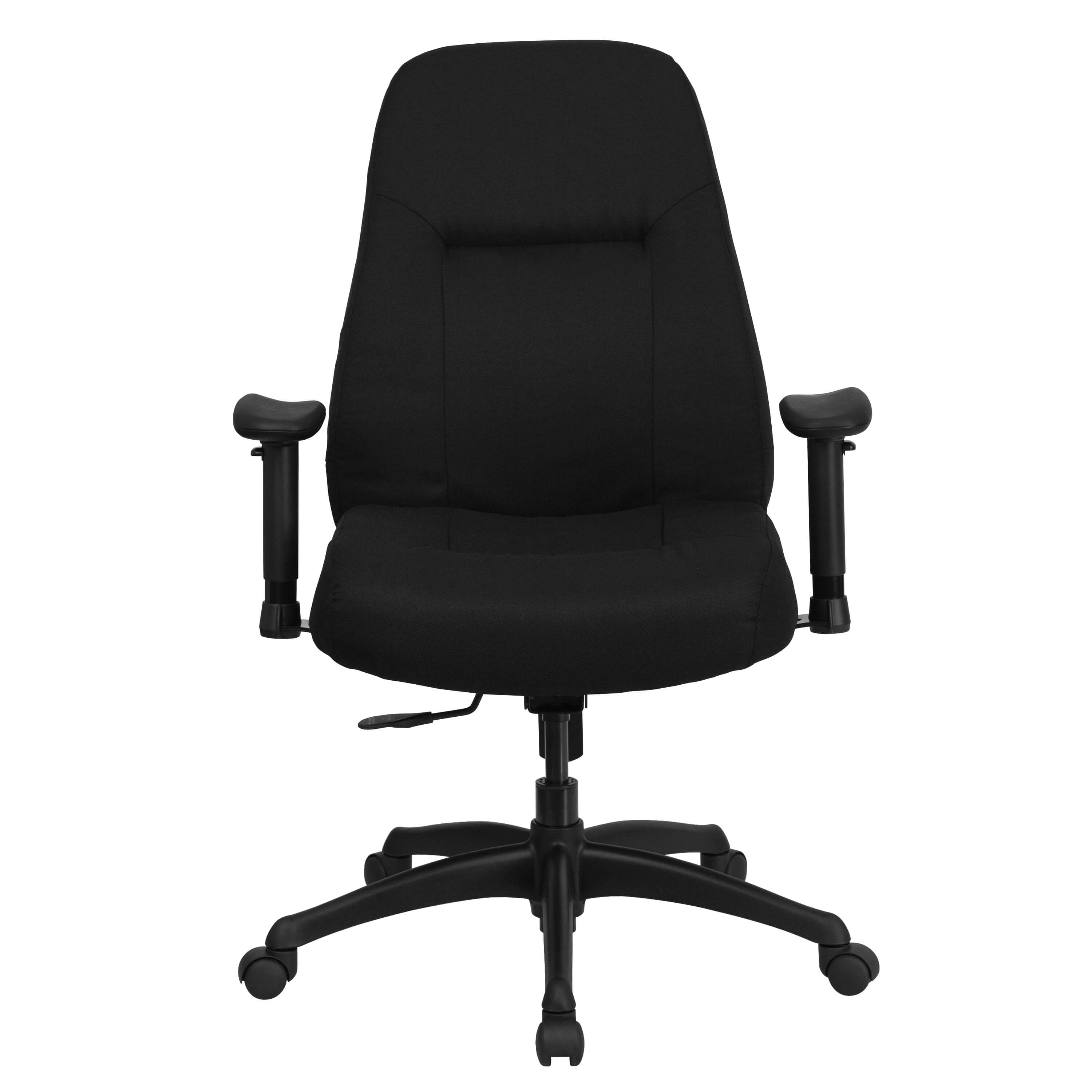 Heavy weight capacity office chair front view