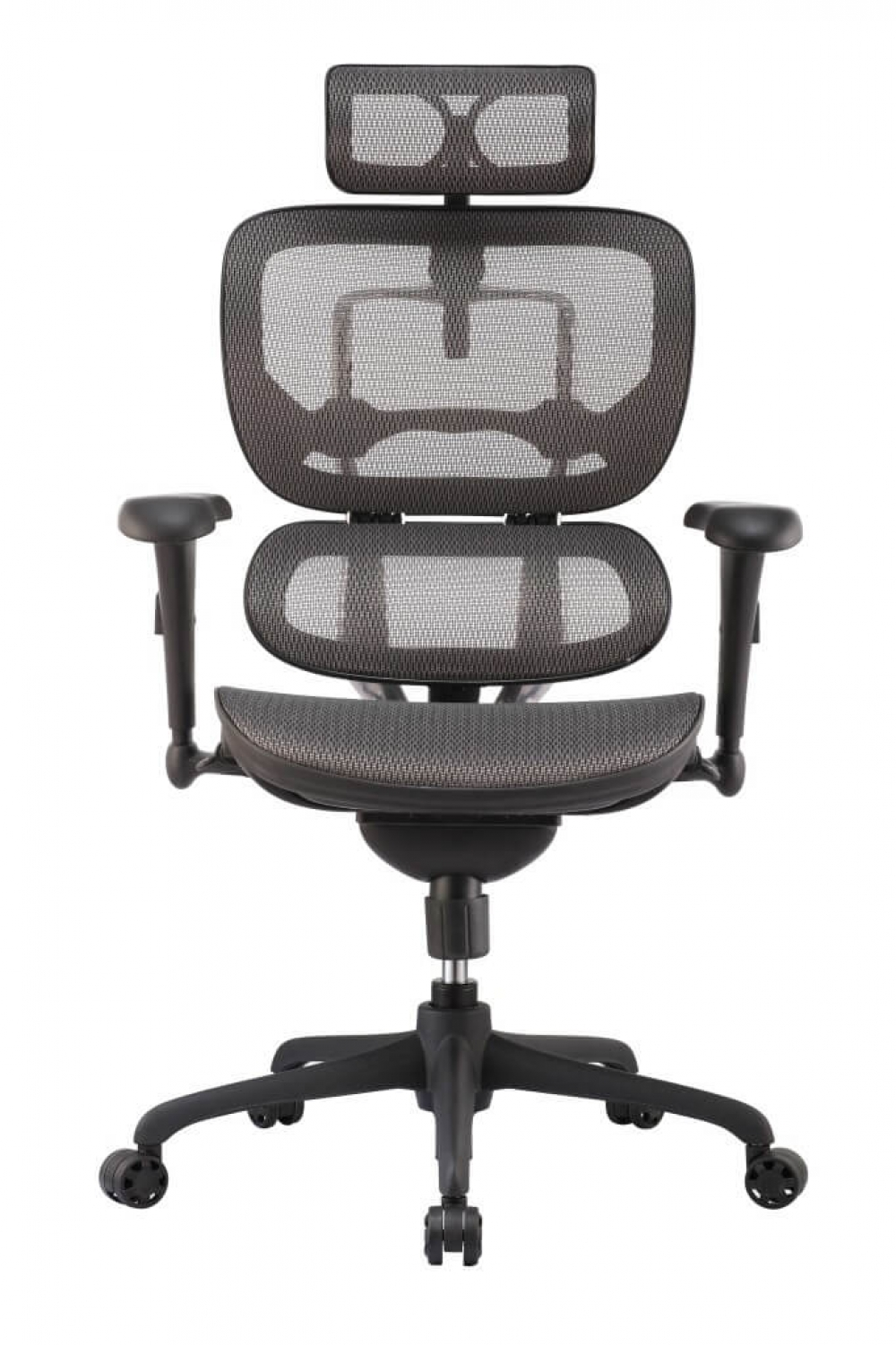 High back office chairs front view